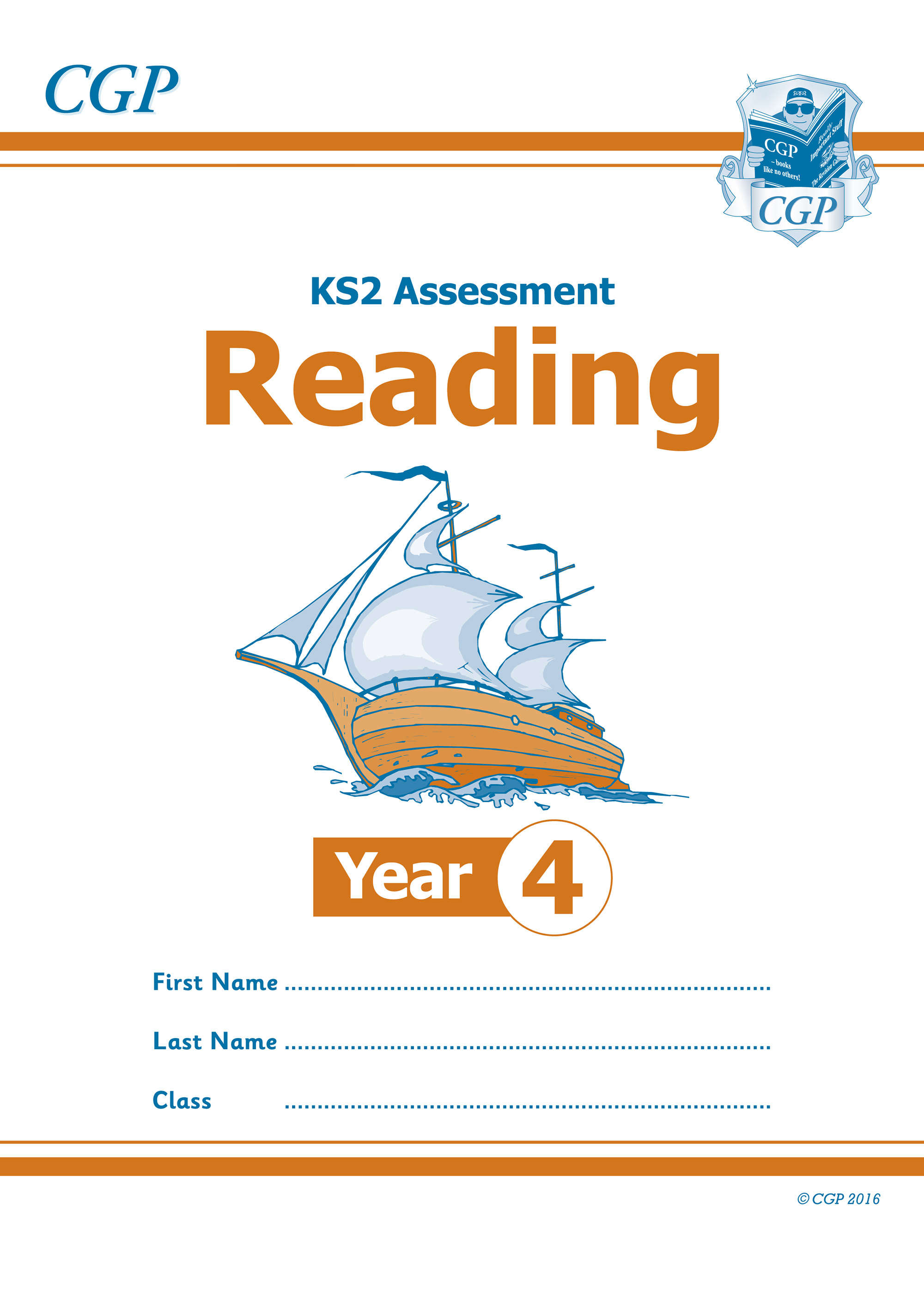 E4RP21 - New KS2 Assessment: Reading - Year 4 Test