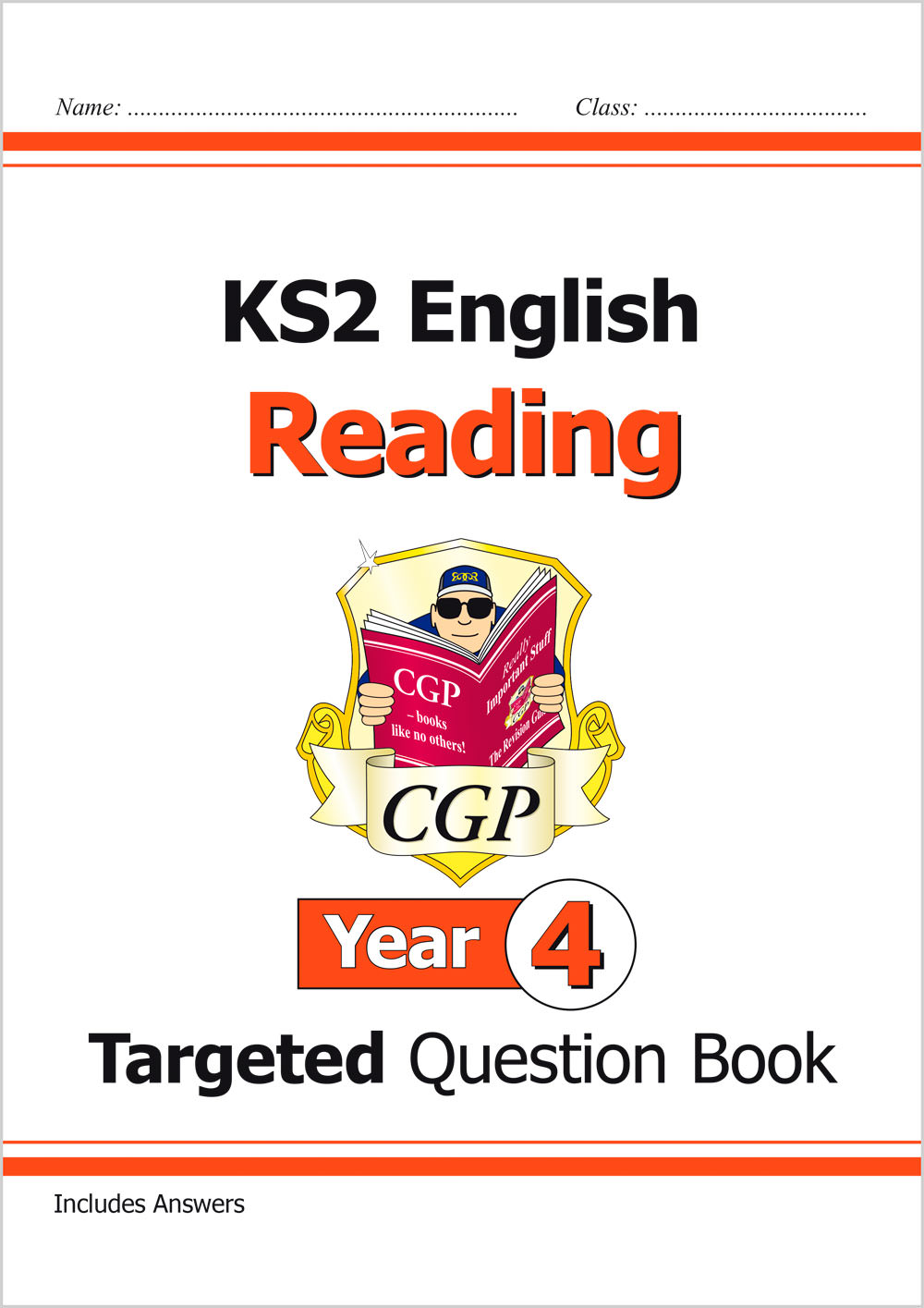 E4RQ21 - New KS2 English Targeted Question Book: Reading - Year 4
