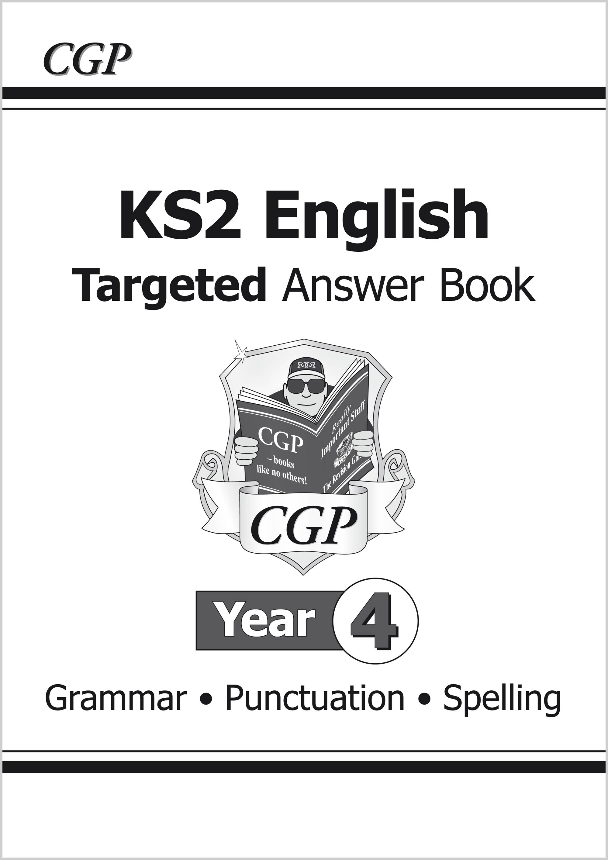 E4SA21 - KS2 English Answers for Targeted Question Books: Grammar, Punctuation and Spelling - Year 4