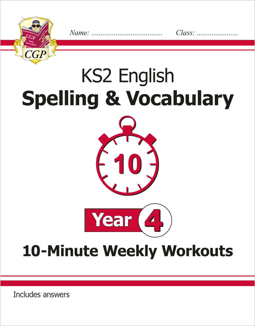 E4VSXW21 - New KS2 English 10-Minute Weekly Workouts: Spelling & Vocabulary - Year 4
