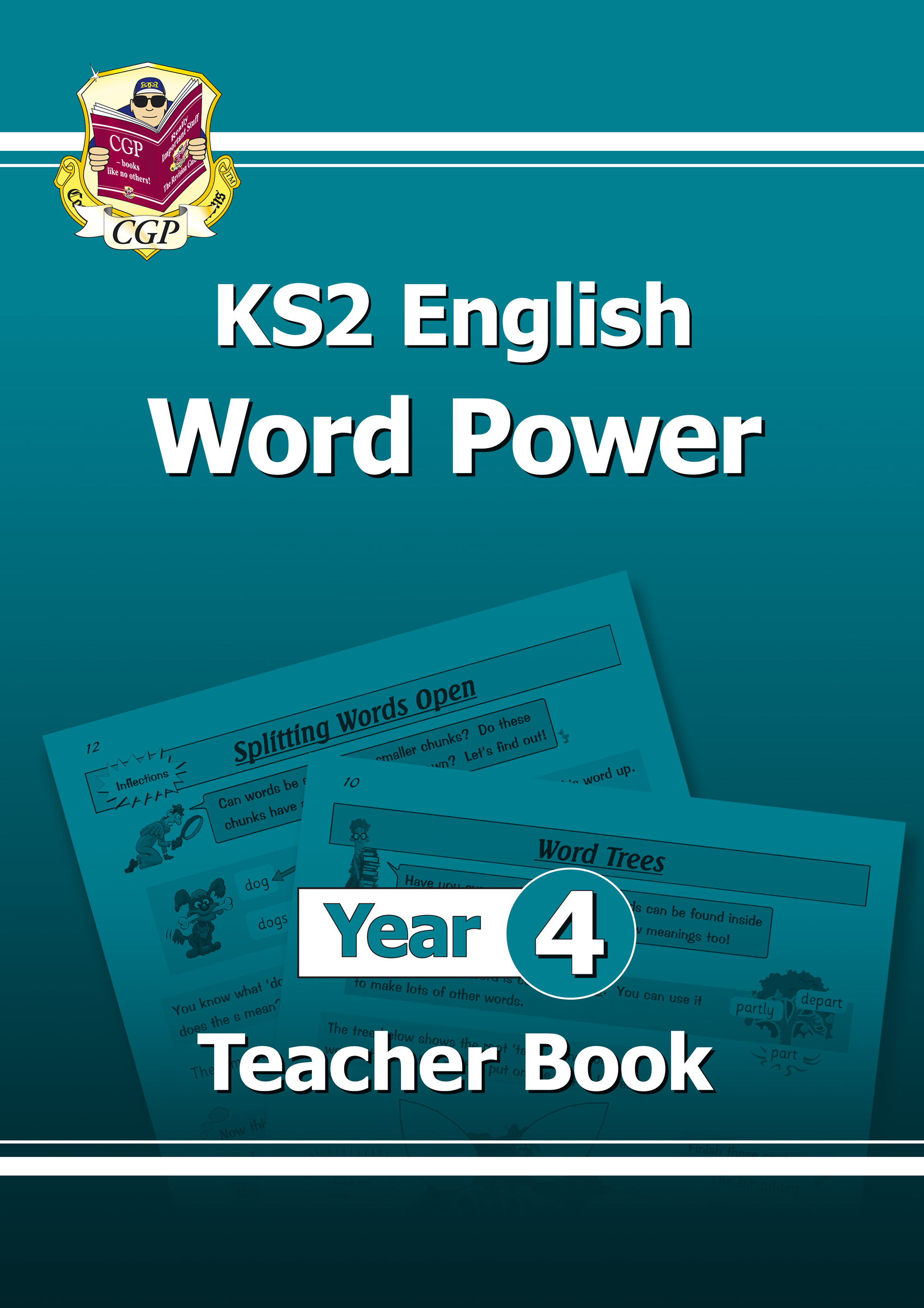E4WPT21 - KS2 English Word Power: Teacher Book - Year 4