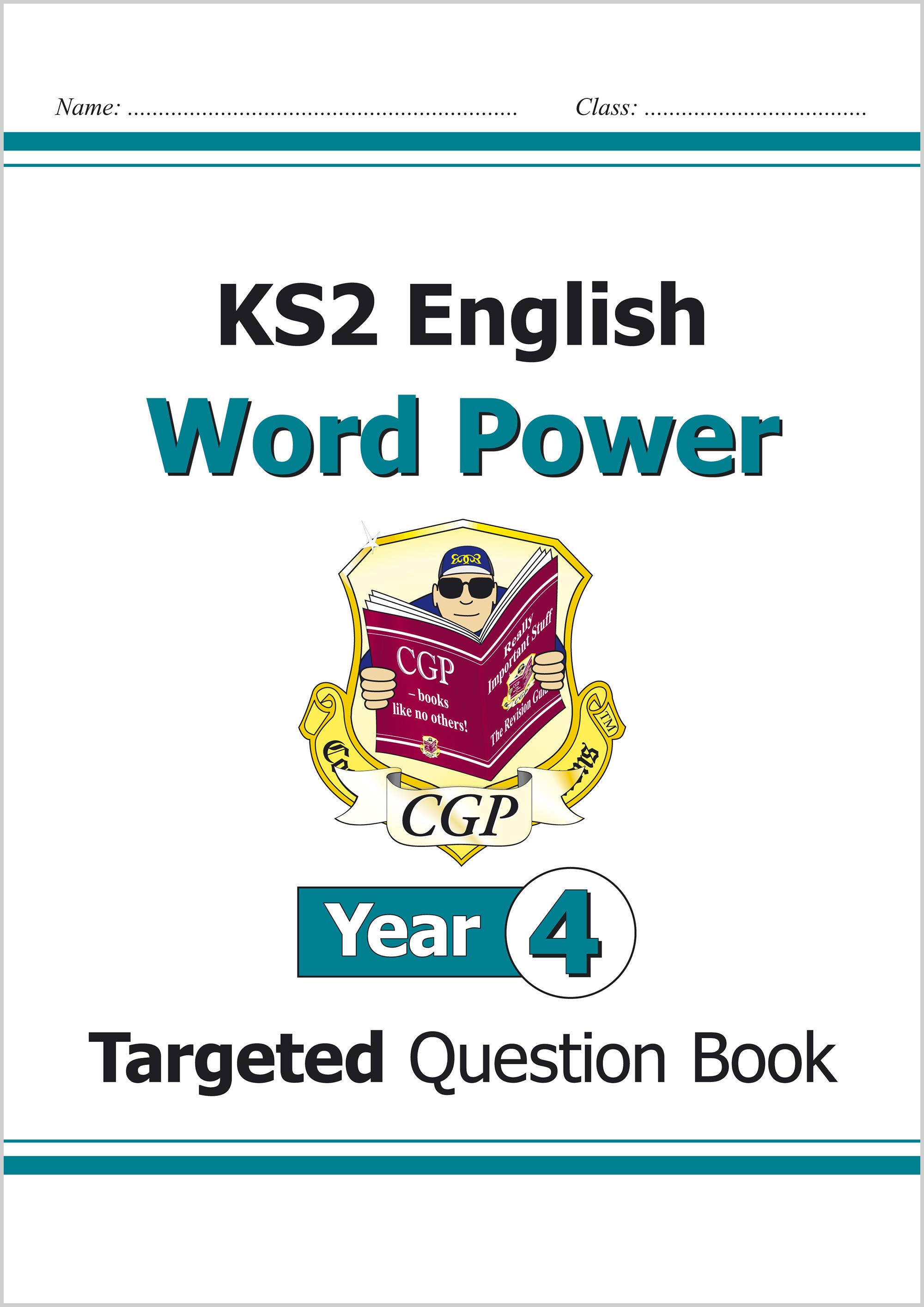 E4WPW21 - KS2 English Targeted Question Book: Word Power - Year 4