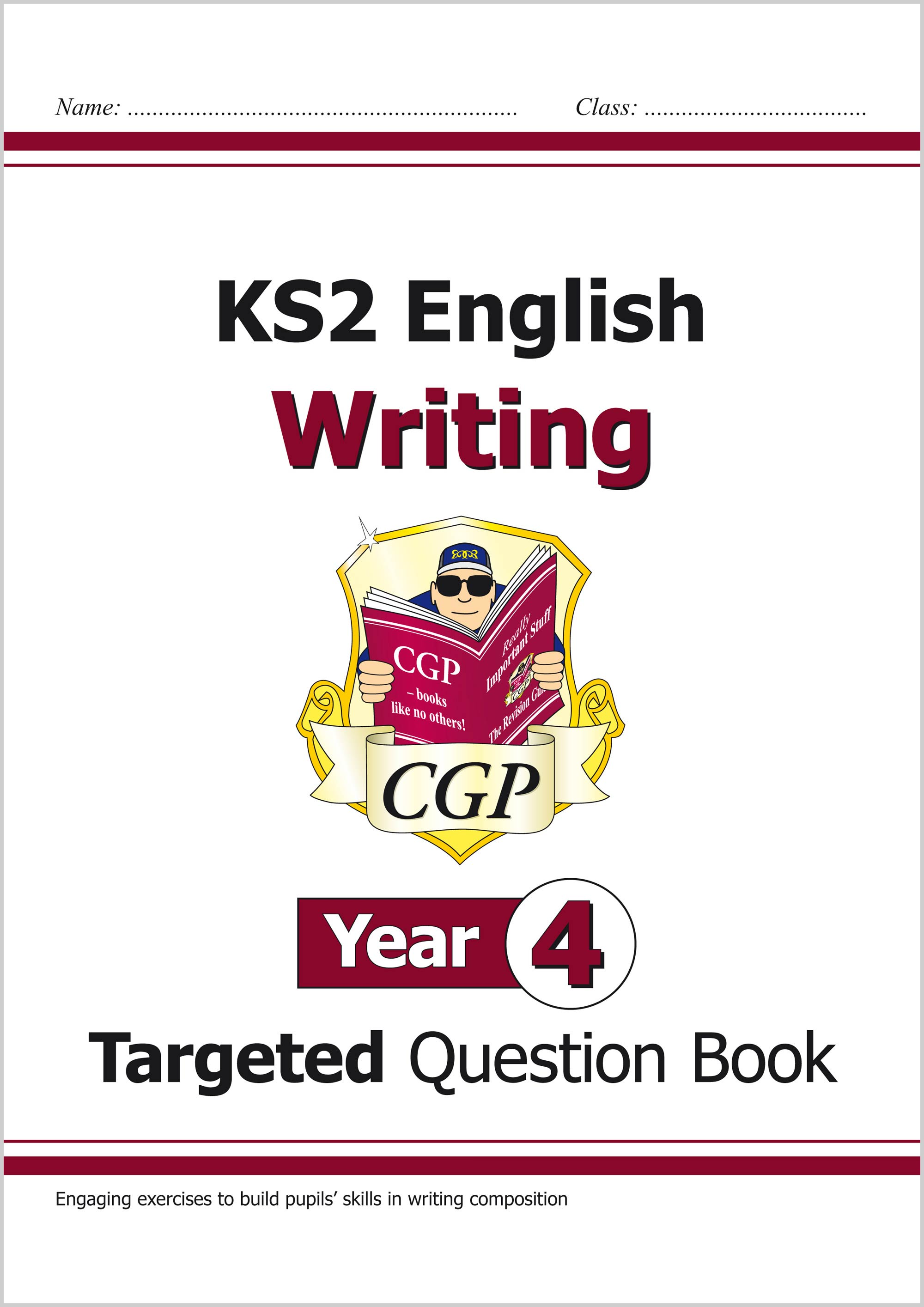 E4WW21 - KS2 English Writing Targeted Question Book - Year 4