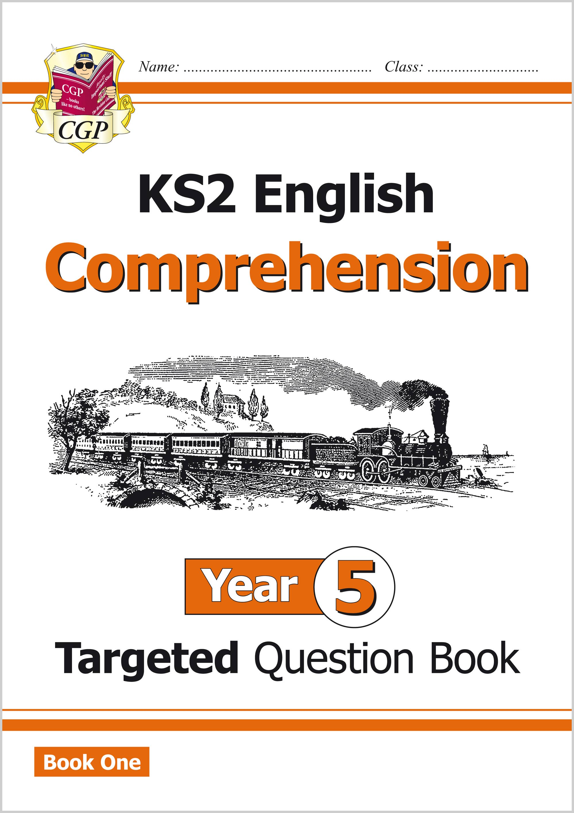 E5CW21 - New KS2 English Targeted Question Book: Year 5 Comprehension - Book 1