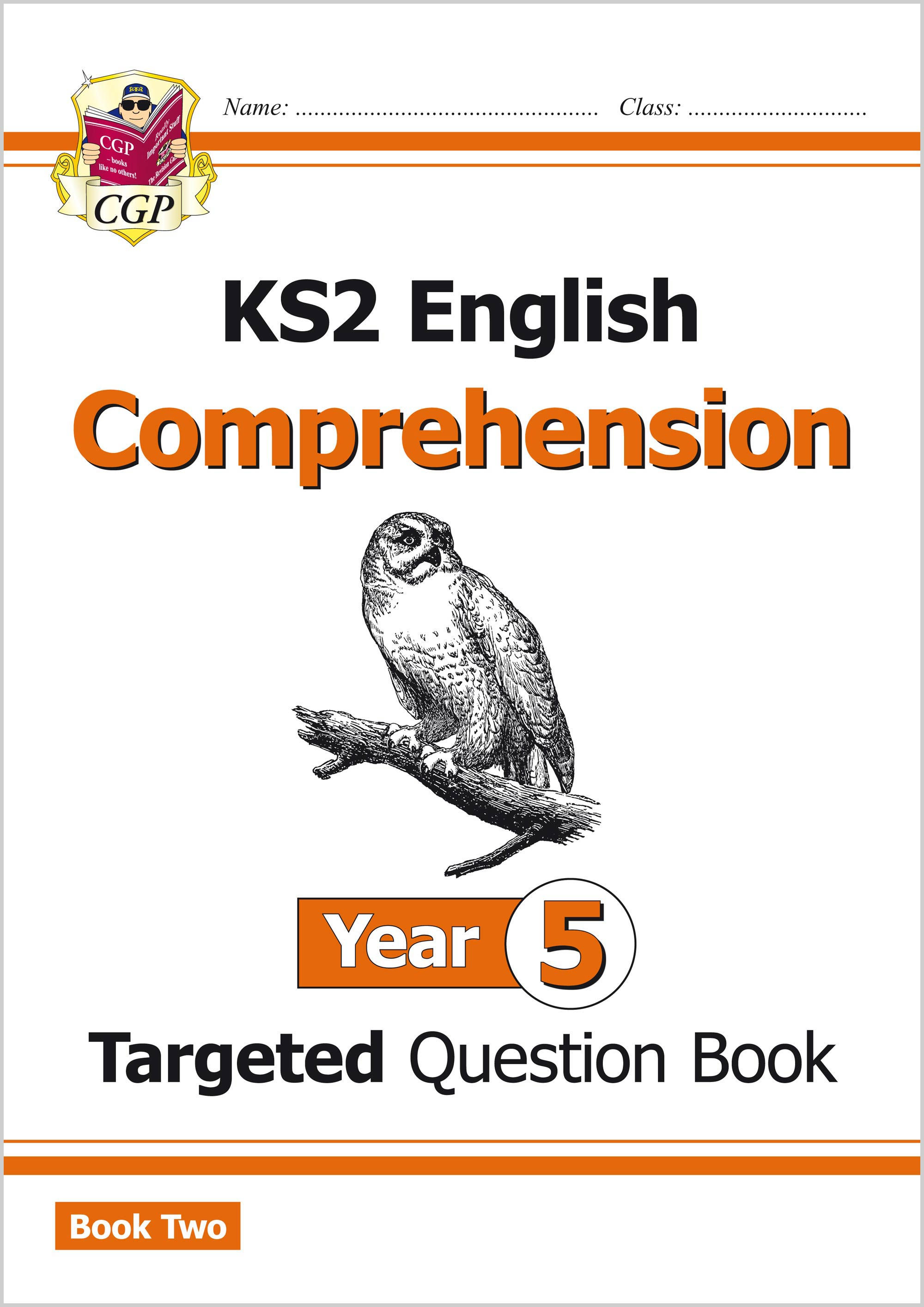 E5CW221 - KS2 English Targeted Question Book: Year 5 Comprehension - Book 2