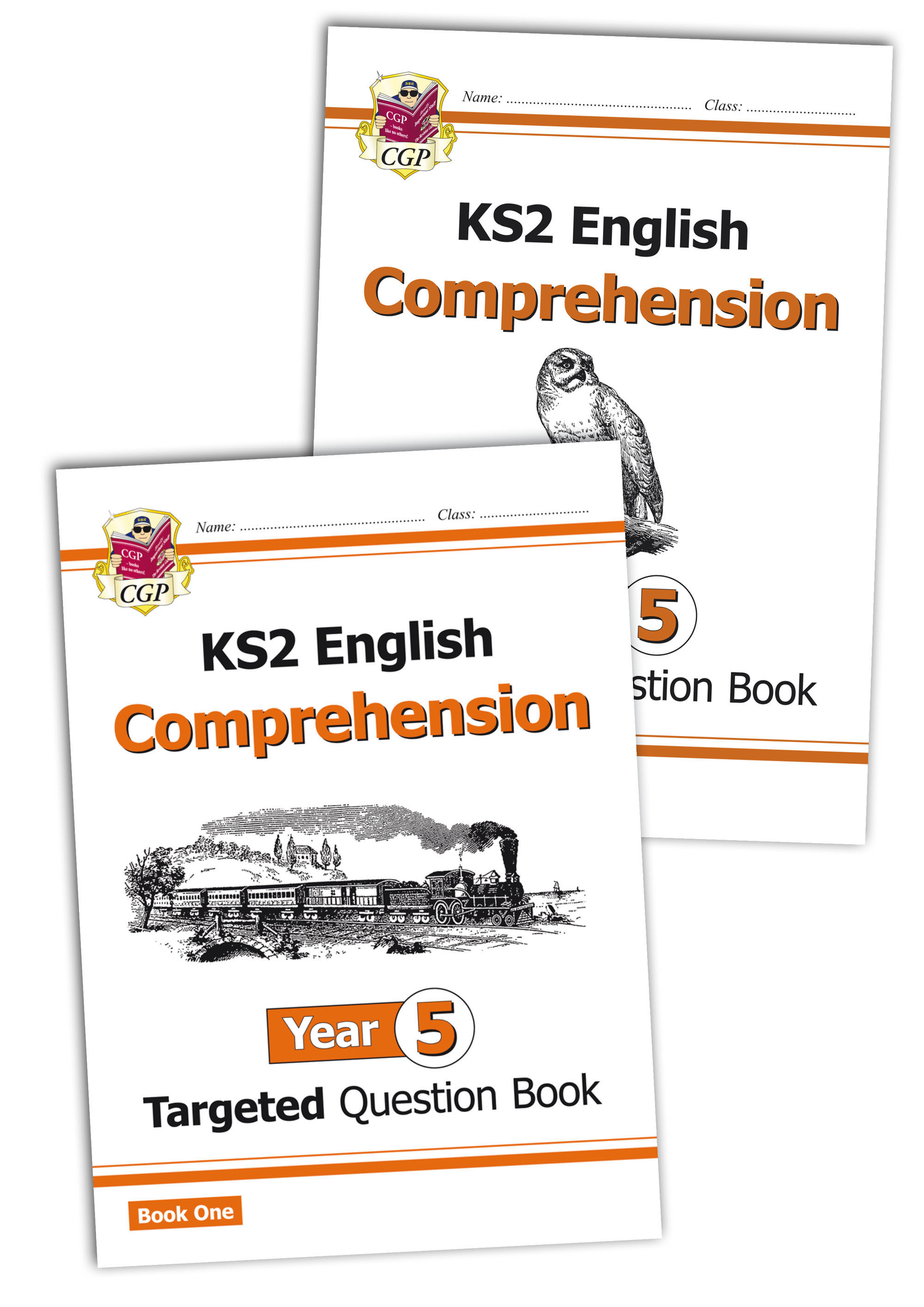 E5CWB21 - New KS2 English Targeted Question Book: Year 5 Comprehension - Book 1 & 2 Bundle