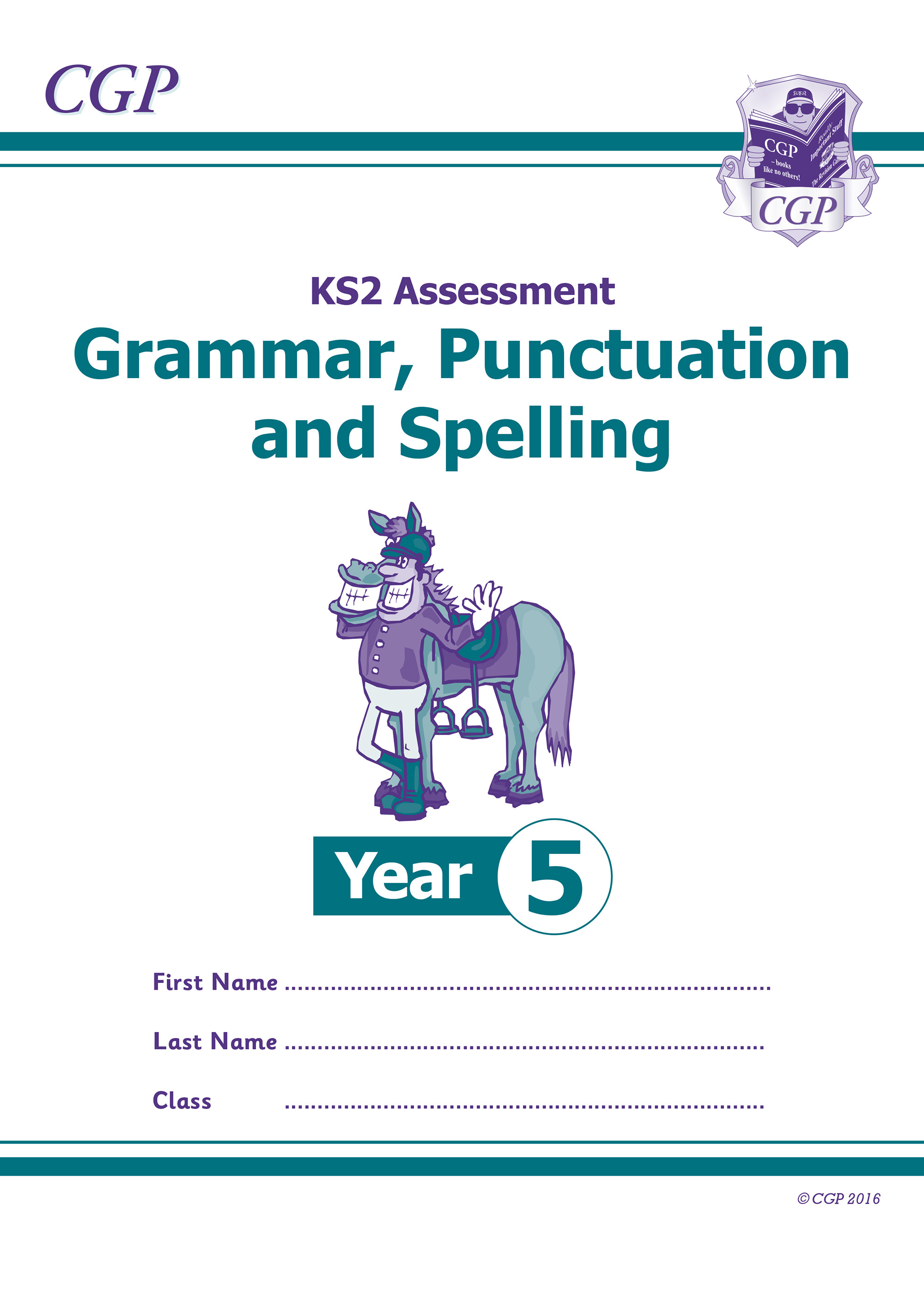 E5GP21 - KS2 Assessment: Spelling, Punctuation & Grammar - Year 5 Test