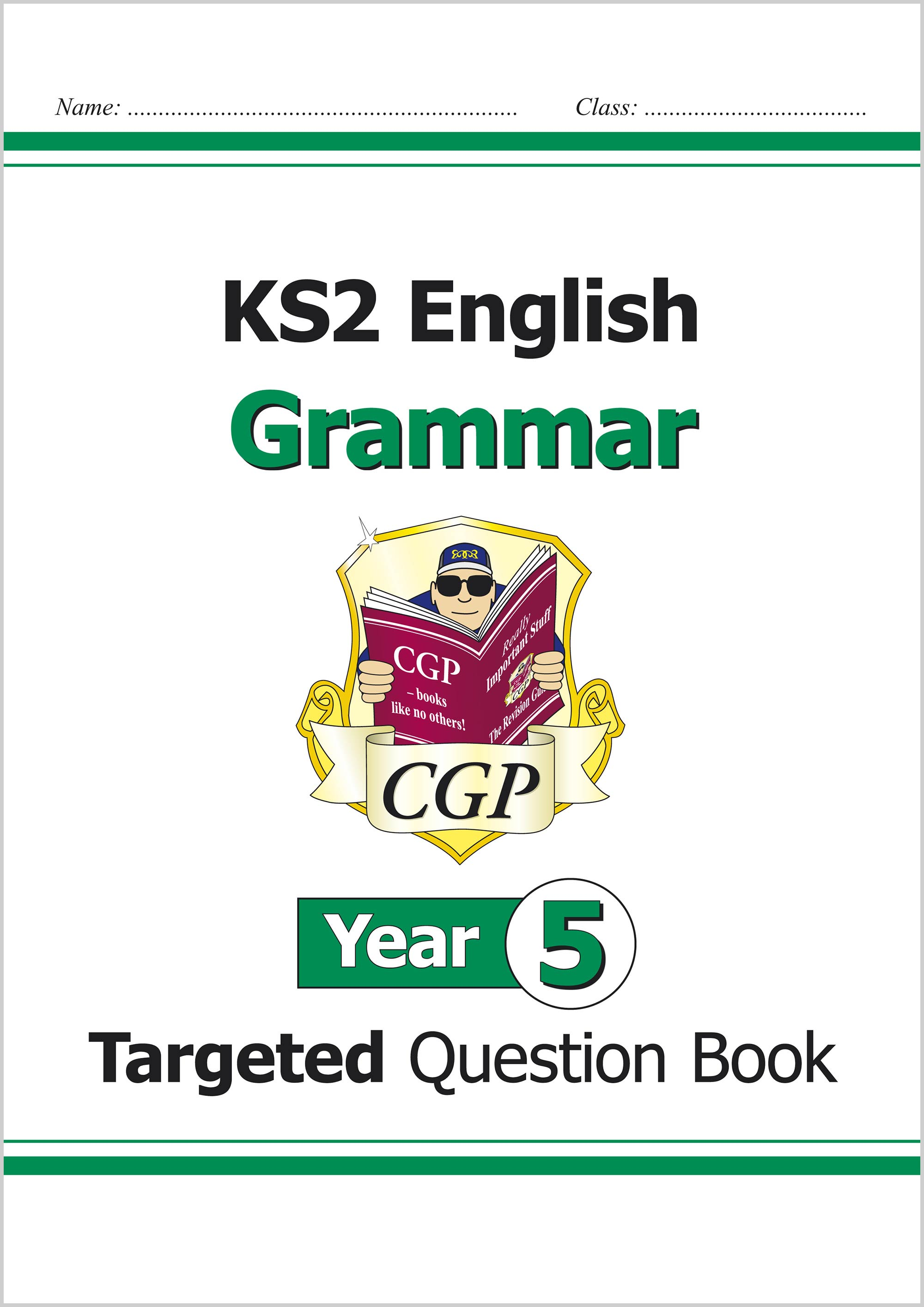 E5GW21 - KS2 English Targeted Question Book: Grammar - Year 5