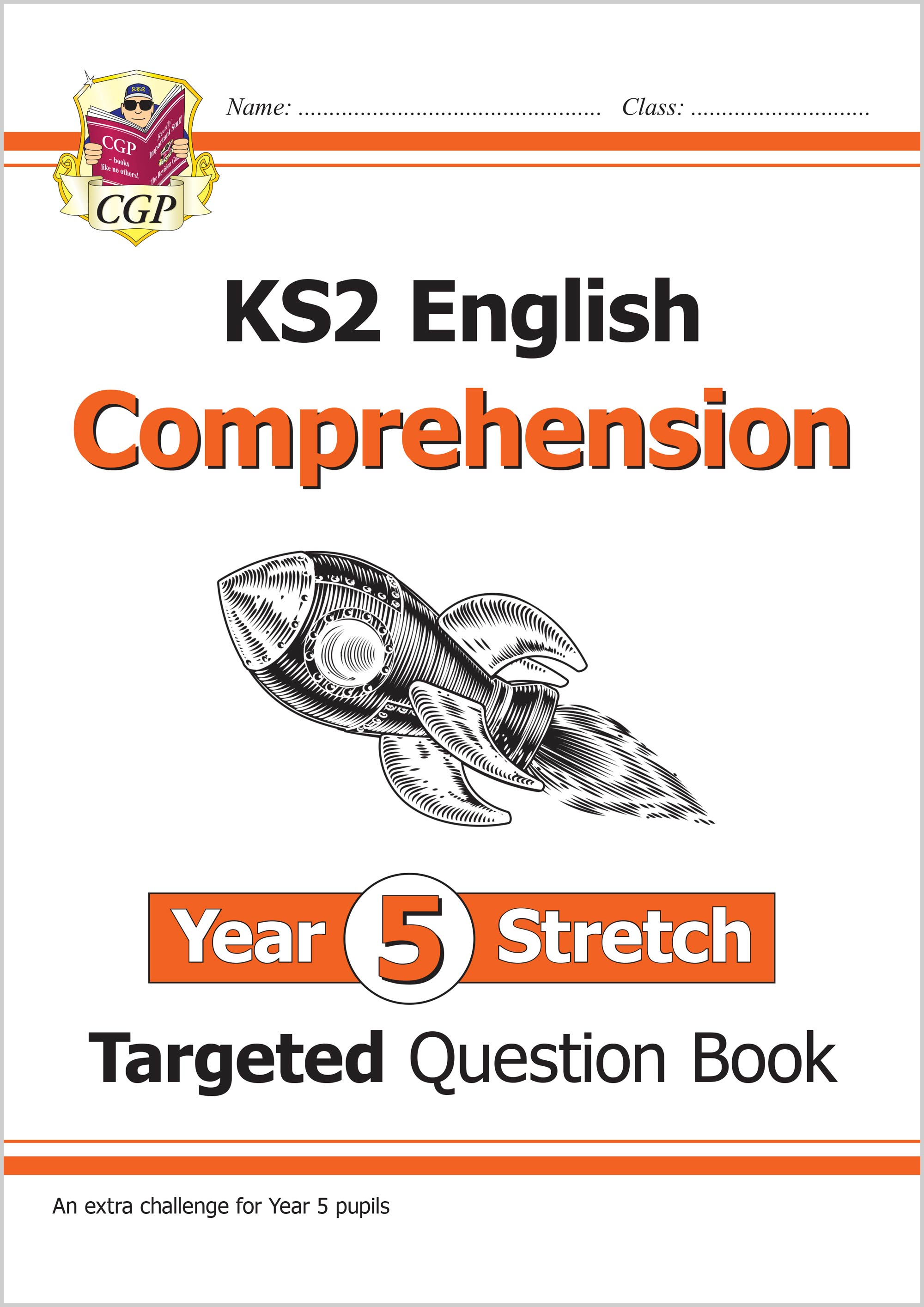 E5HCW21 - KS2 English Targeted Question Book: Challenging Comprehension - Year 5 Stretch (with Answe