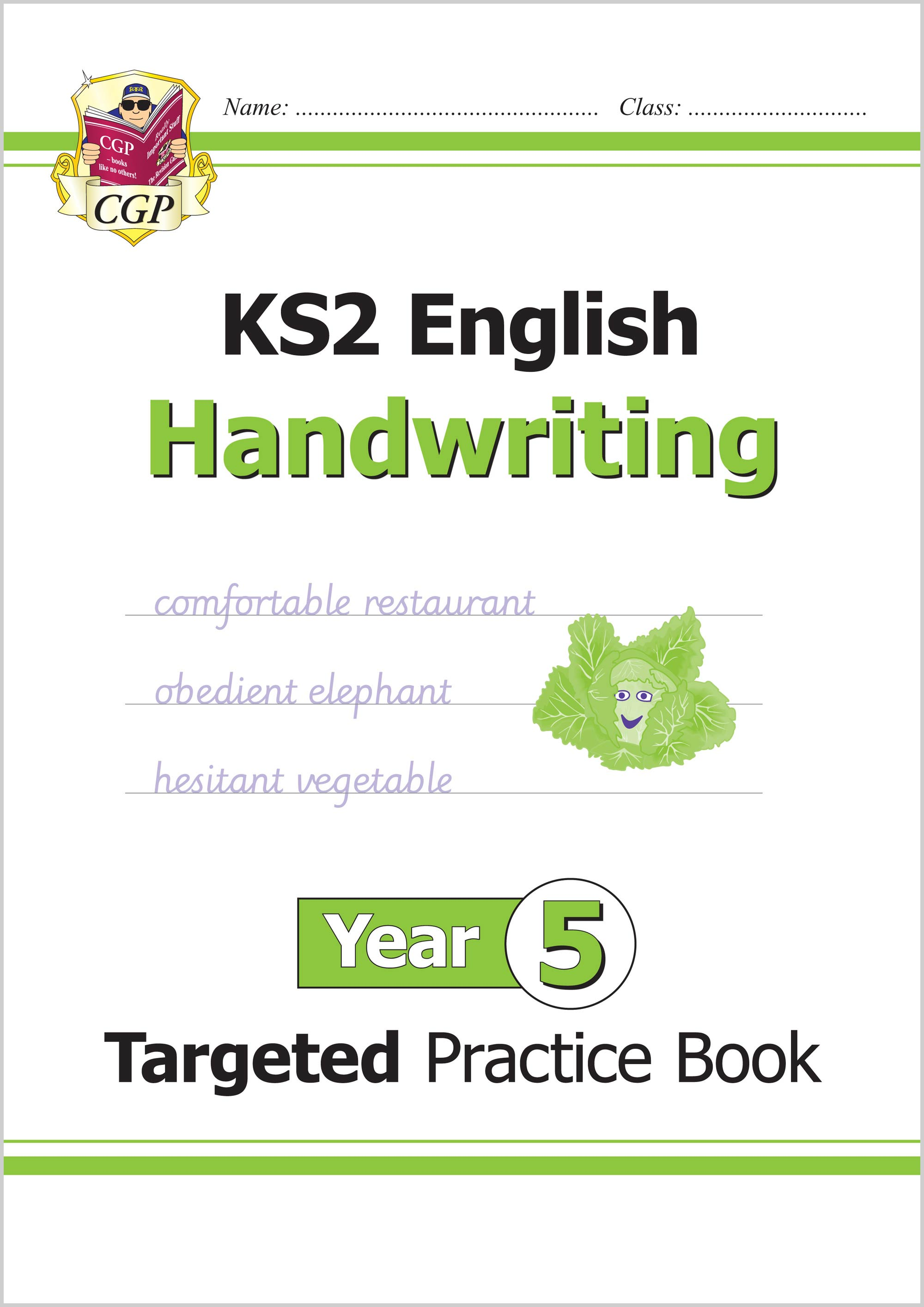 E5HHW21 - New KS2 English Targeted Practice Book: Handwriting - Year 5