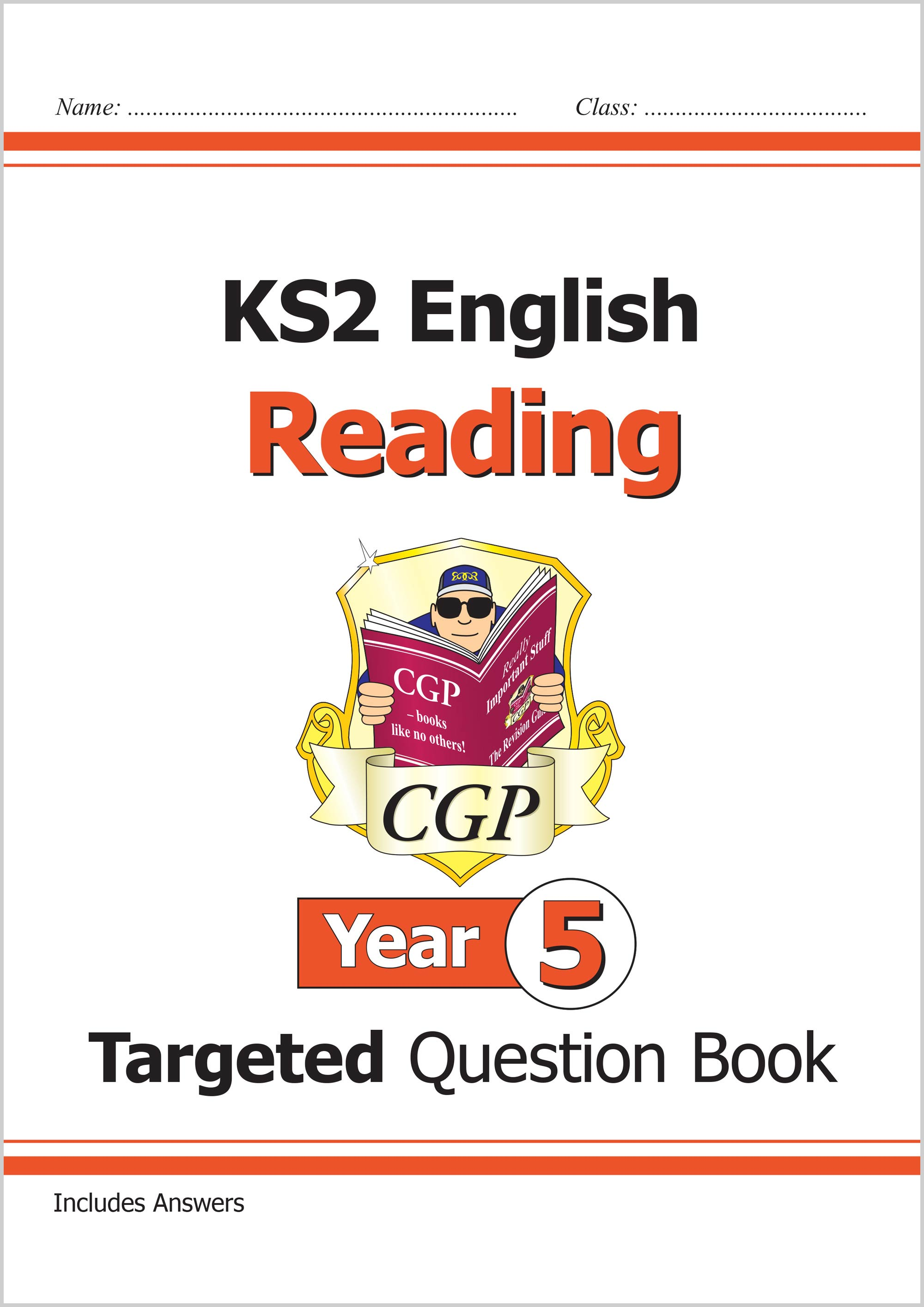 E5RQ21 - New KS2 English Targeted Question Book: Reading - Year 5
