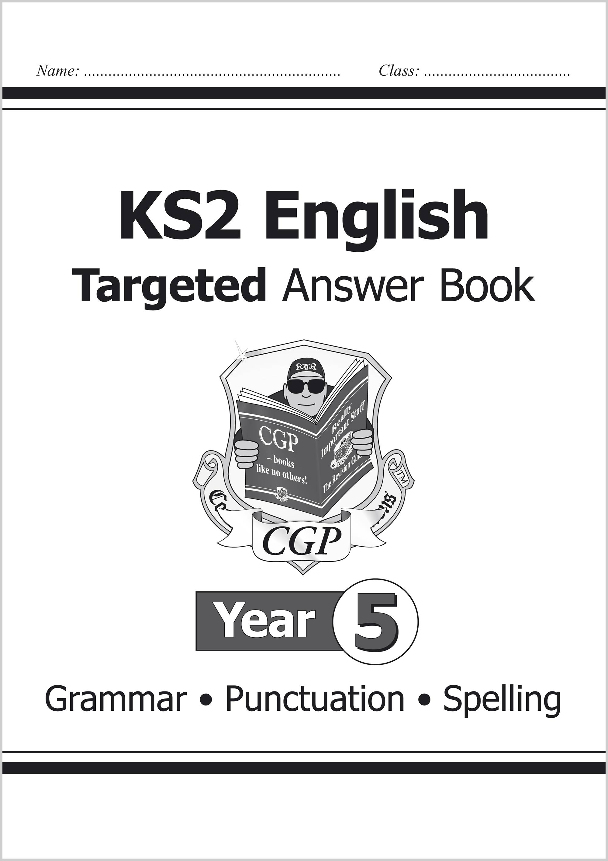 E5SA21 - KS2 English Answers for Targeted Question Books: Grammar, Punctuation and Spelling - Year 5