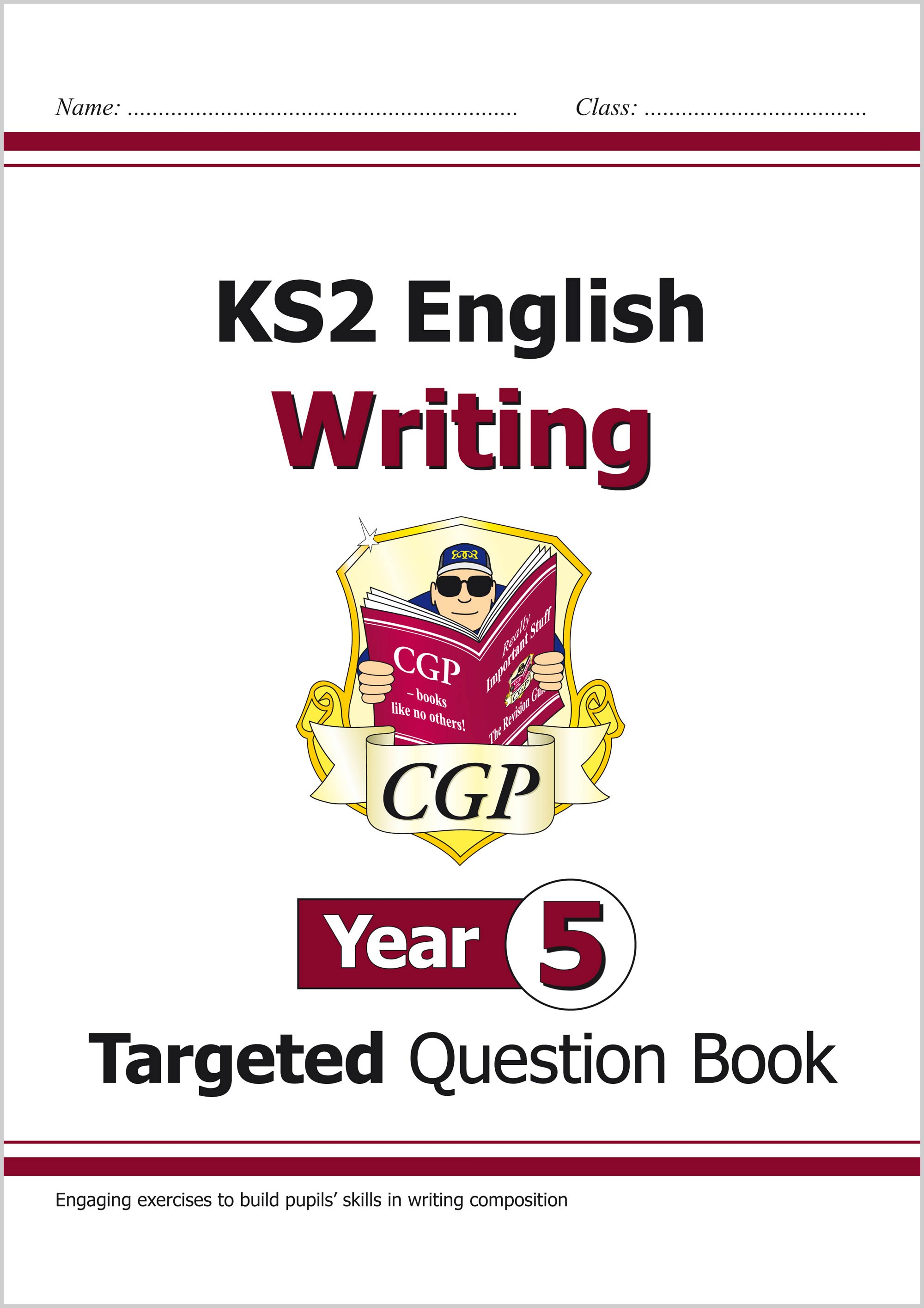 E5WW21 - New KS2 English Writing Targeted Question Book - Year 5