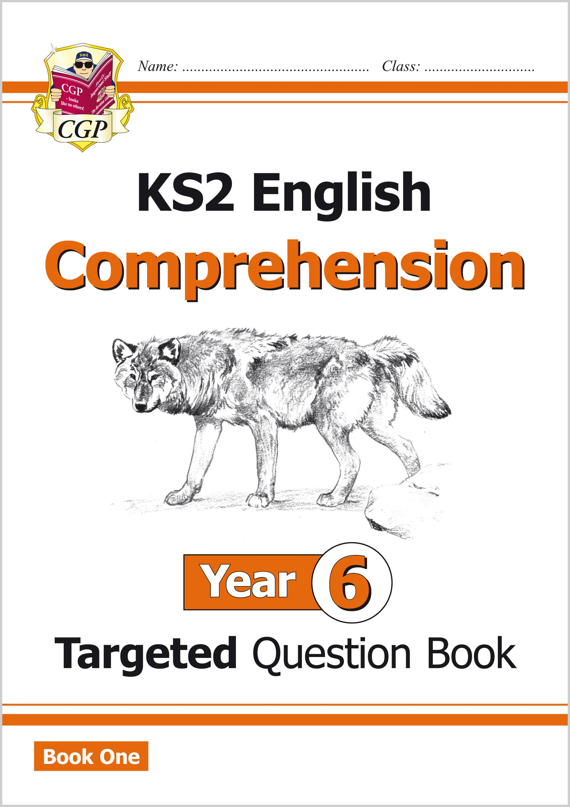 E6CW21 - KS2 English Targeted Question Book: Year 6 Comprehension - Book 1