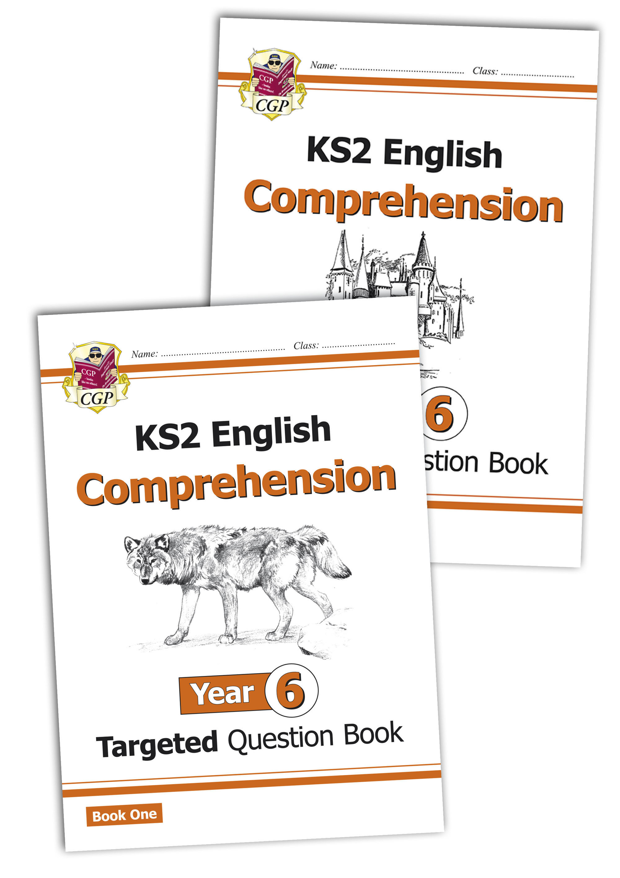 E6CWB21 - KS2 English Targeted Question Book: Year 6 Comprehension - Book 1 & 2 Bundle