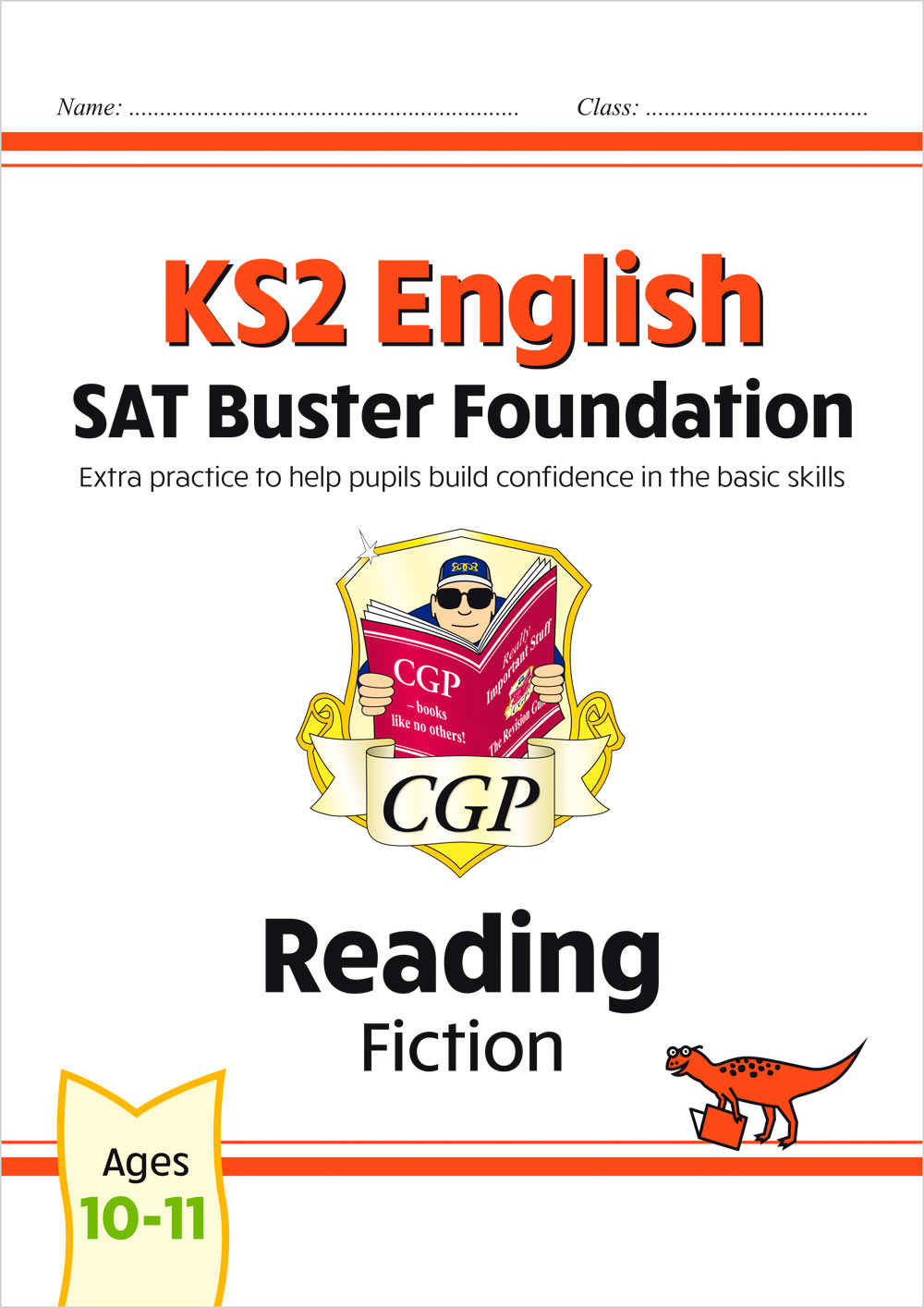 E6FFRF21 - New KS2 English Reading SAT Buster Foundation: Fiction (for the 2021 tests)