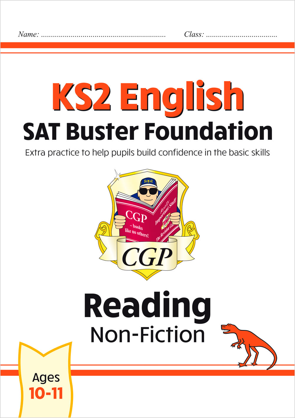 E6FFRN21 - New KS2 English Reading SAT Buster Foundation: Non-Fiction (for the 2020 tests)