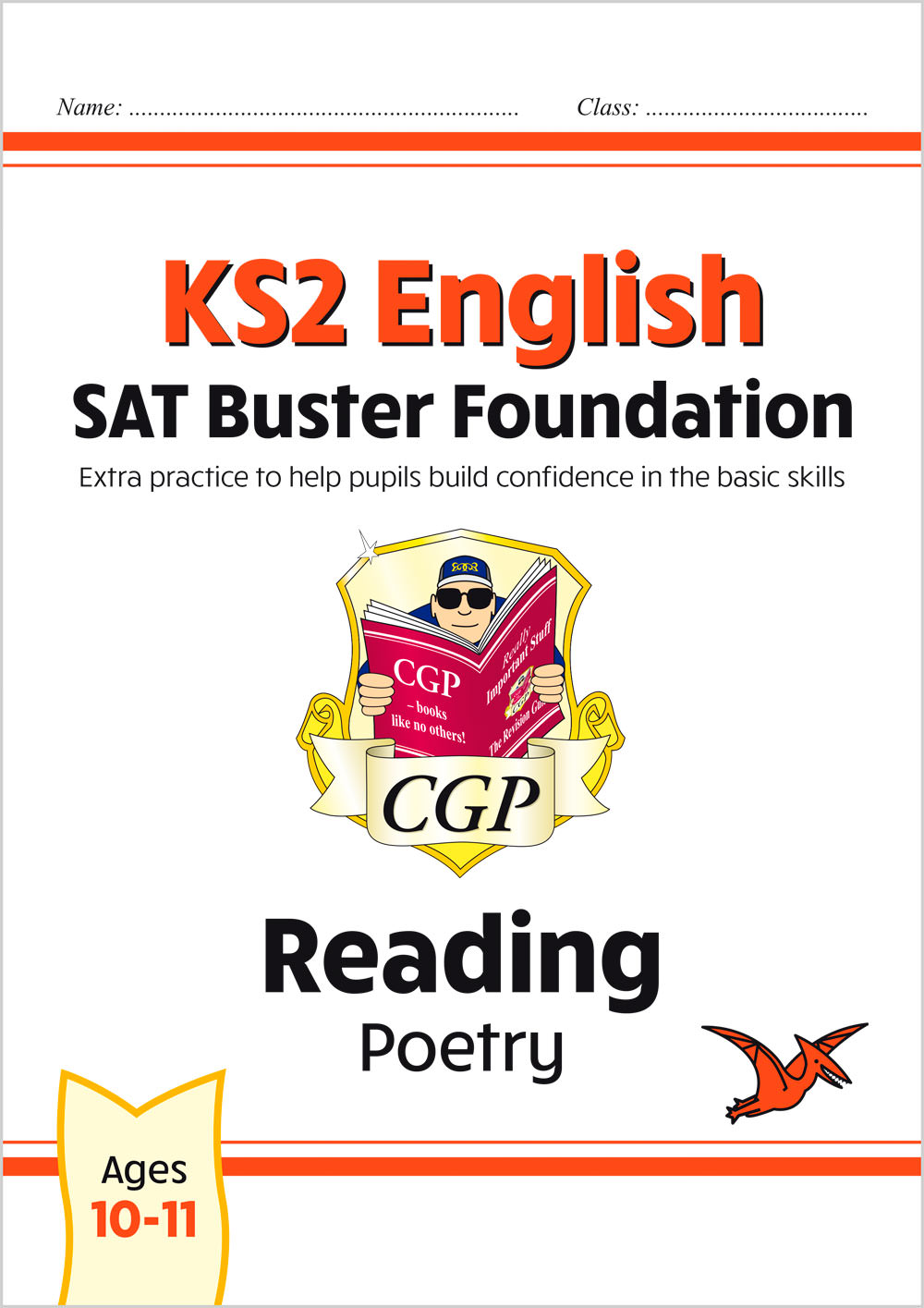 E6FFRP21 - New KS2 English Reading SAT Buster Foundation: Poetry (for the 2021 tests)