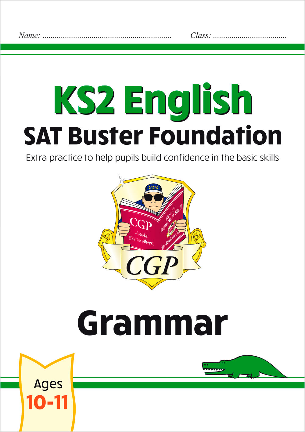 E6FG21 - New KS2 English SAT Buster Foundation: Grammar (for the 2021 tests)