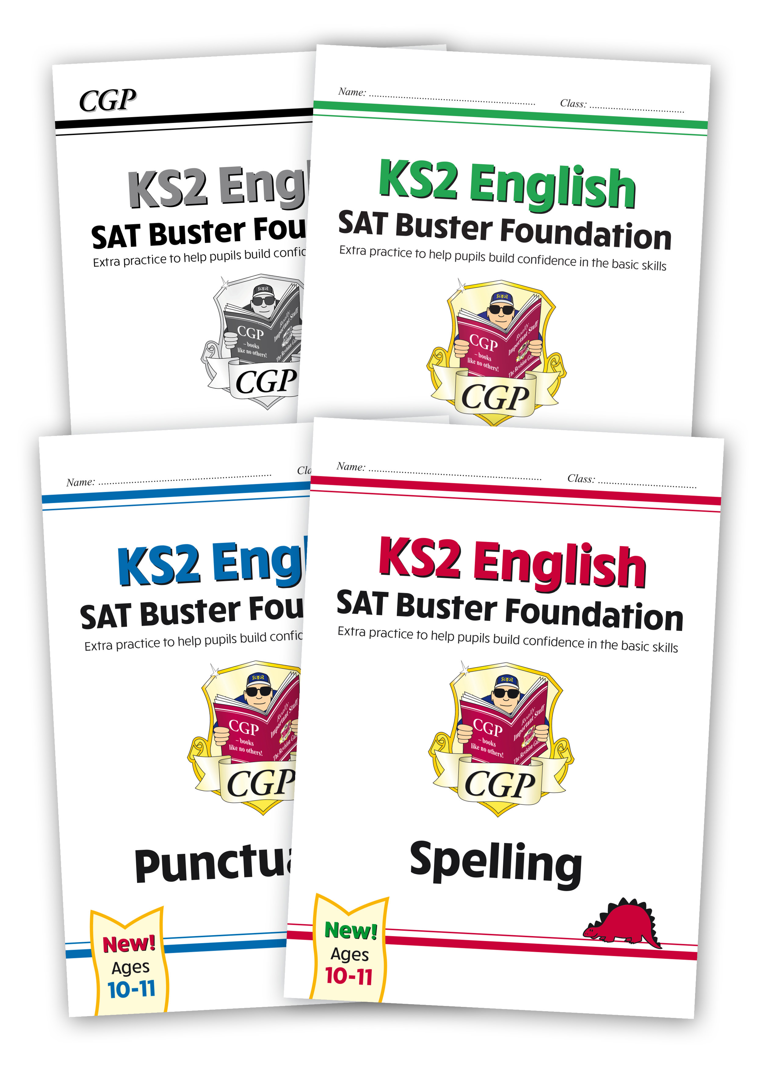 E6FGB21 - New KS2 English SPaG SAT Buster Foundation Bundle - includes answers (for the 2021 tests)