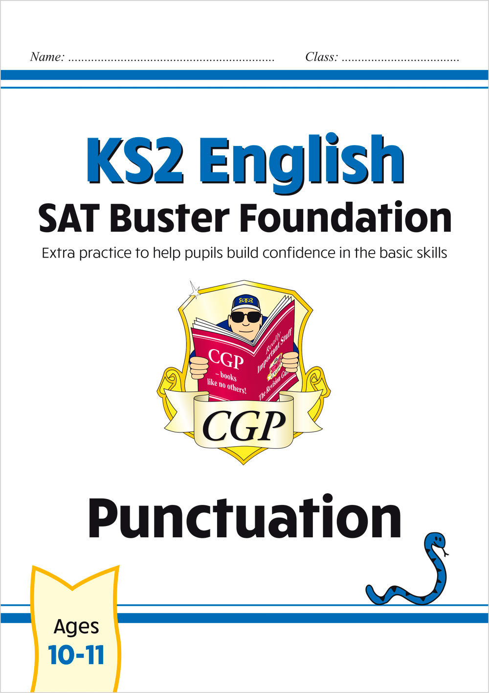 E6FP21 - New KS2 English SAT Buster Foundation: Punctuation (for the 2021 tests)