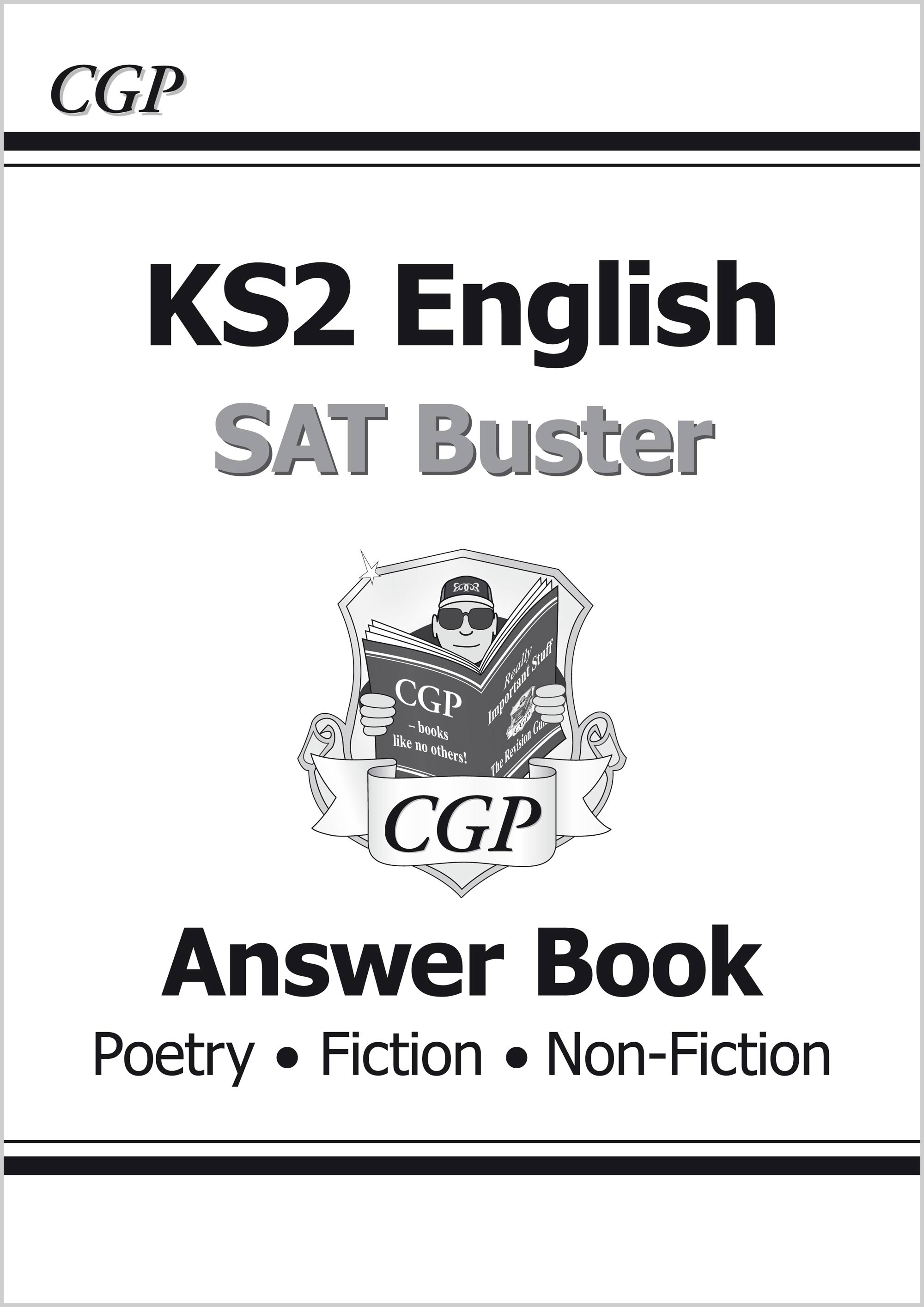 E6FRA21 - KS2 English Reading SAT Buster: Answer Book 1 (for tests in 2019)