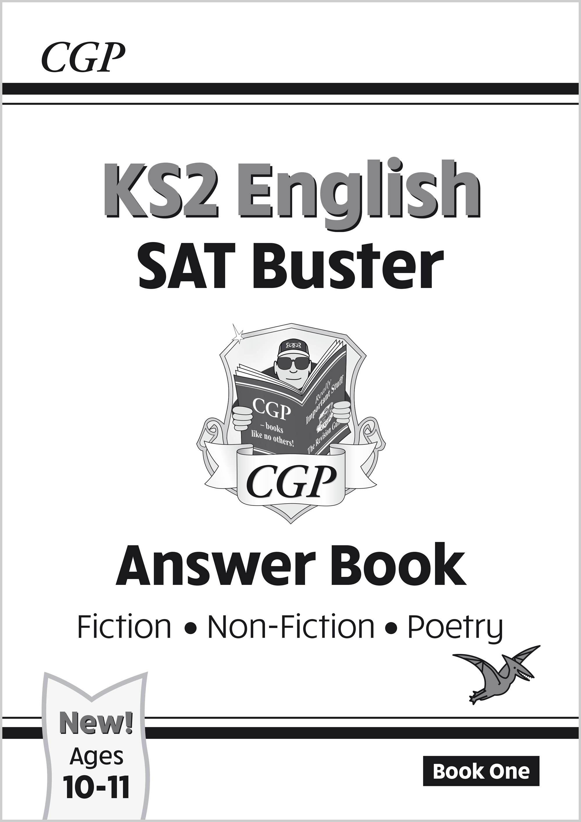 E6FRA22 - New KS2 English Reading SAT Buster: Answer Book 1 (for the 2021 tests)
