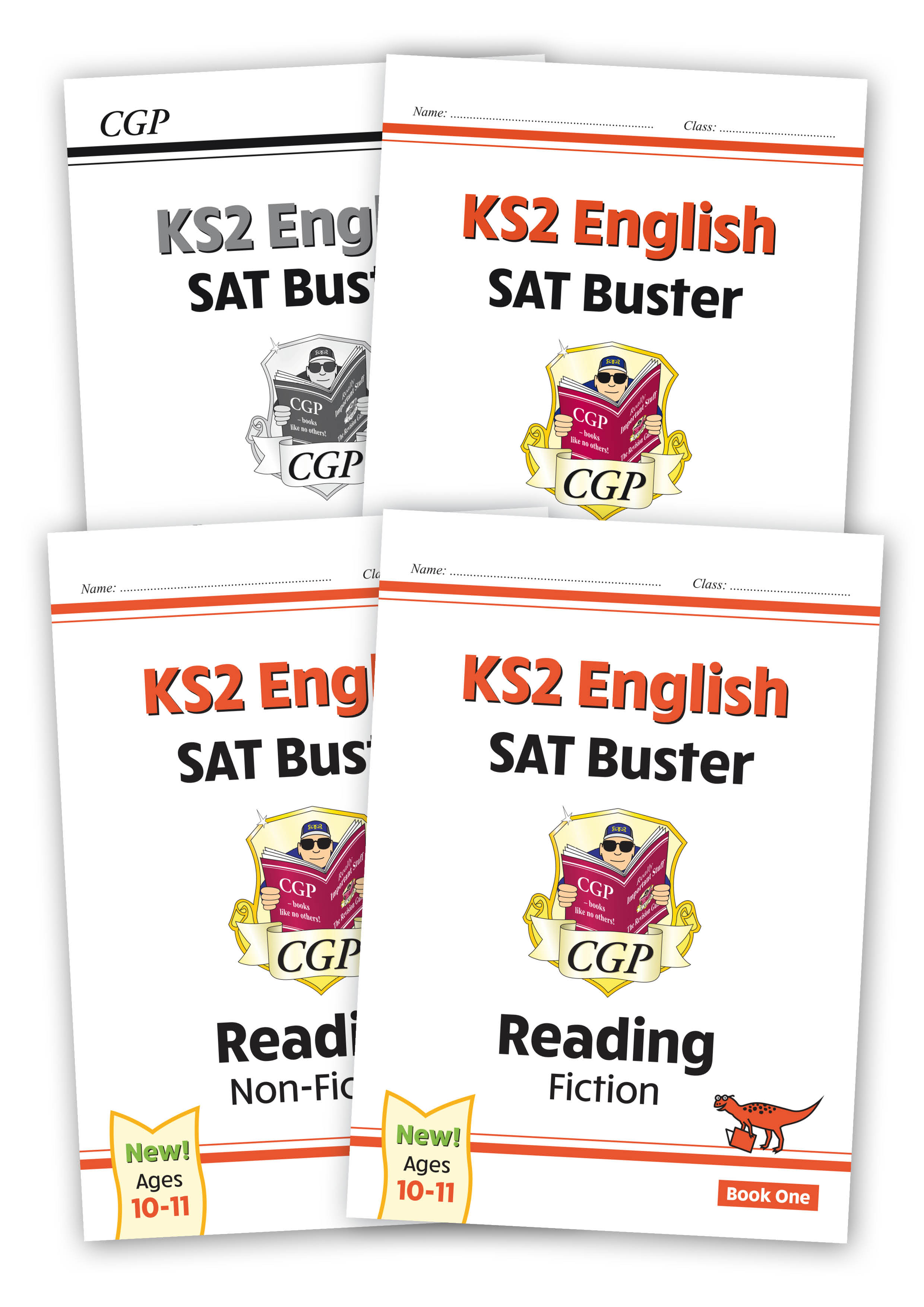 E6FRB22 - New KS2 English Reading SAT Buster Book 1 Bundle - includes answers (for the 2021 tests)
