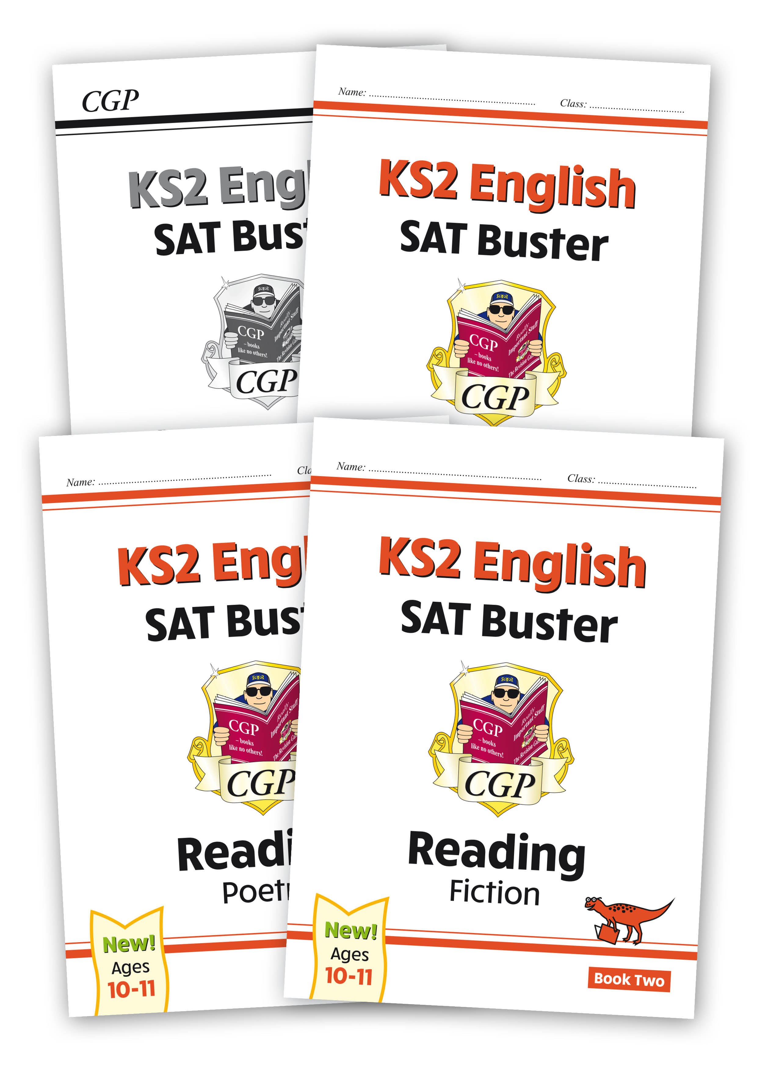 E6FRB222 - New KS2 English Reading SAT Buster Book 2 Bundle - includes answers (for the 2021 tests)