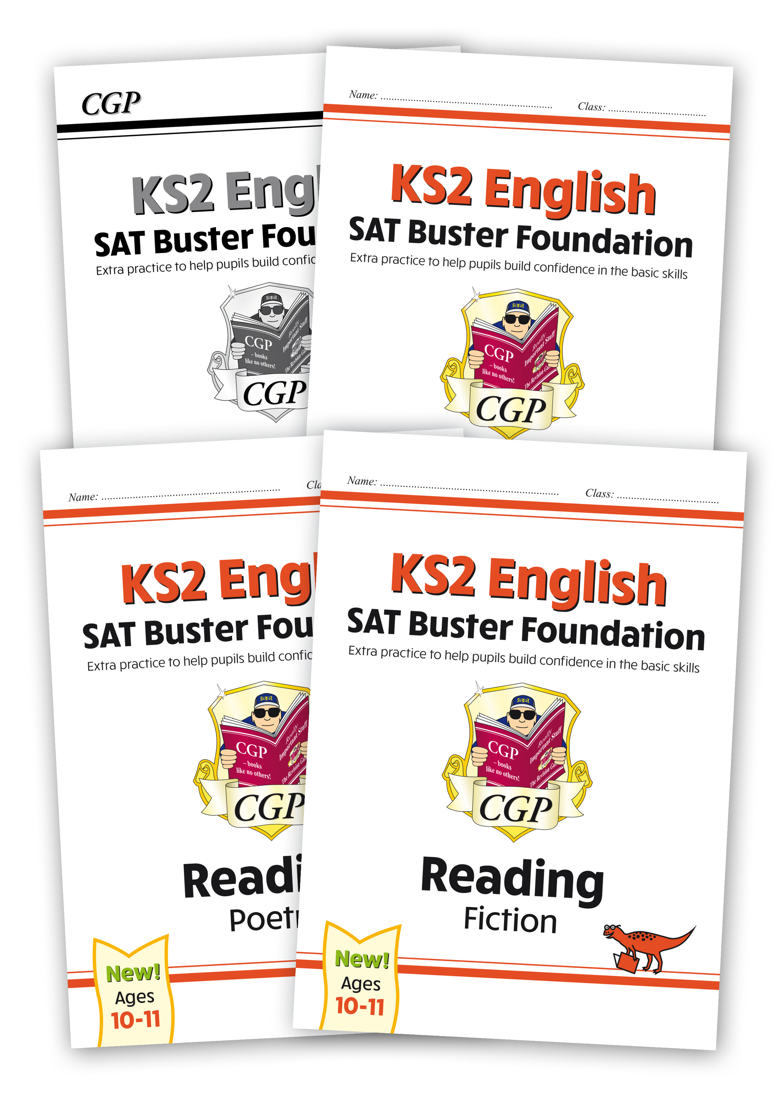 E6FRBB21 - New KS2 English Reading SAT Buster Foundation Bundle - includes answers (for the 2020 tes