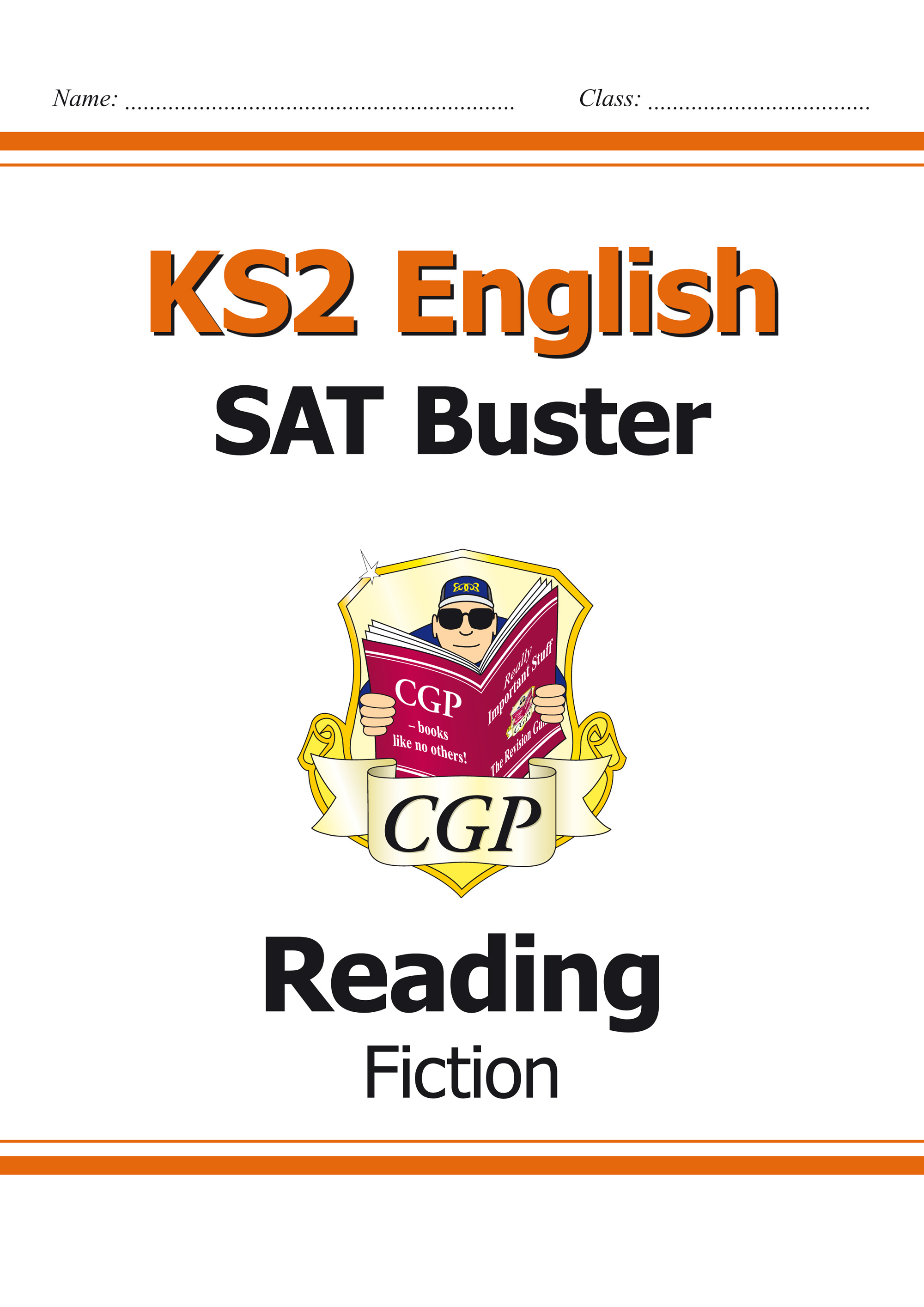 E6FRF21 - KS2 English Reading SAT Buster: Fiction Book 1 (for the 2019 tests)