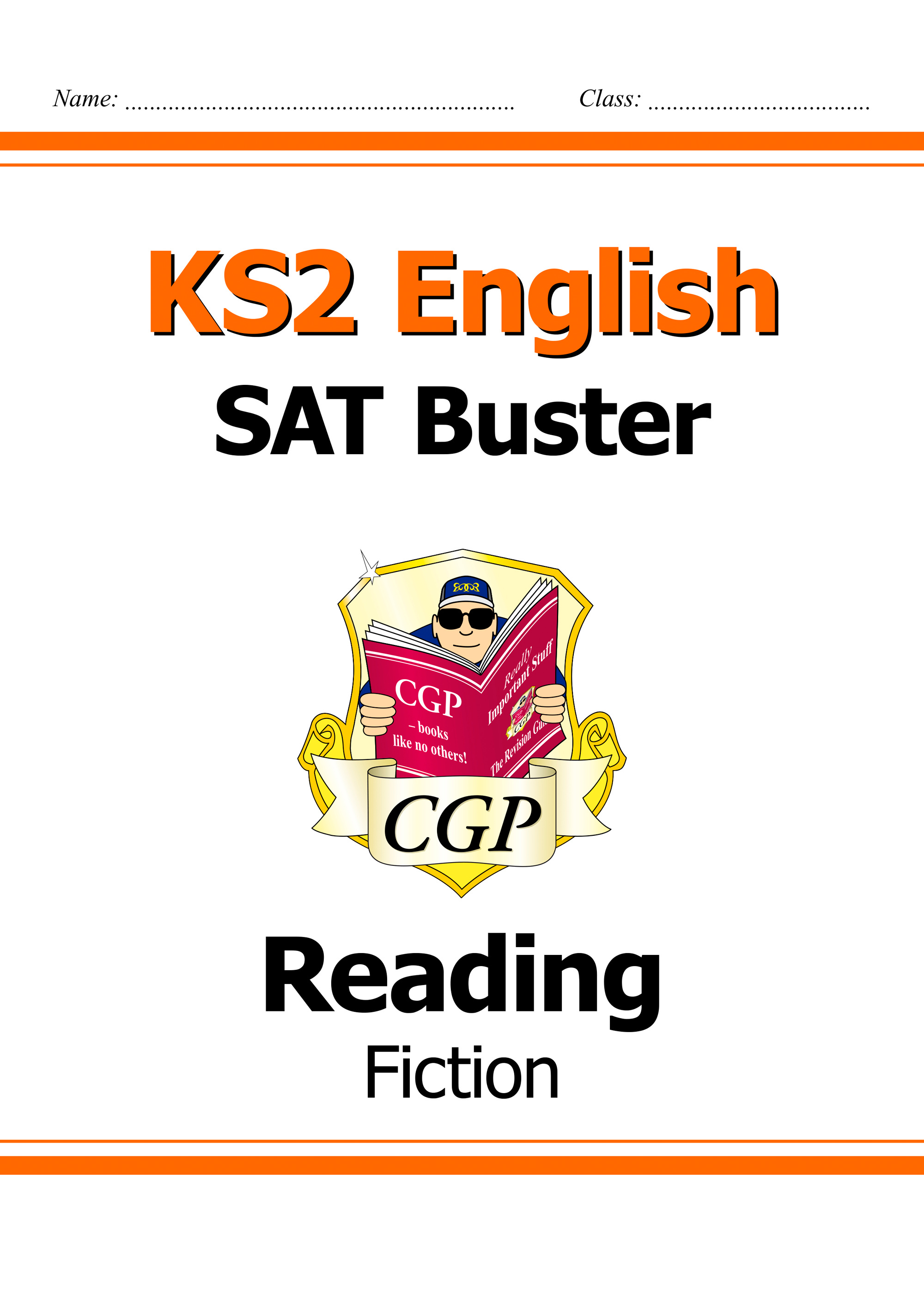 E6FRF21DK - New KS2 English Reading SAT Buster: Fiction (for tests in 2018 and beyond)