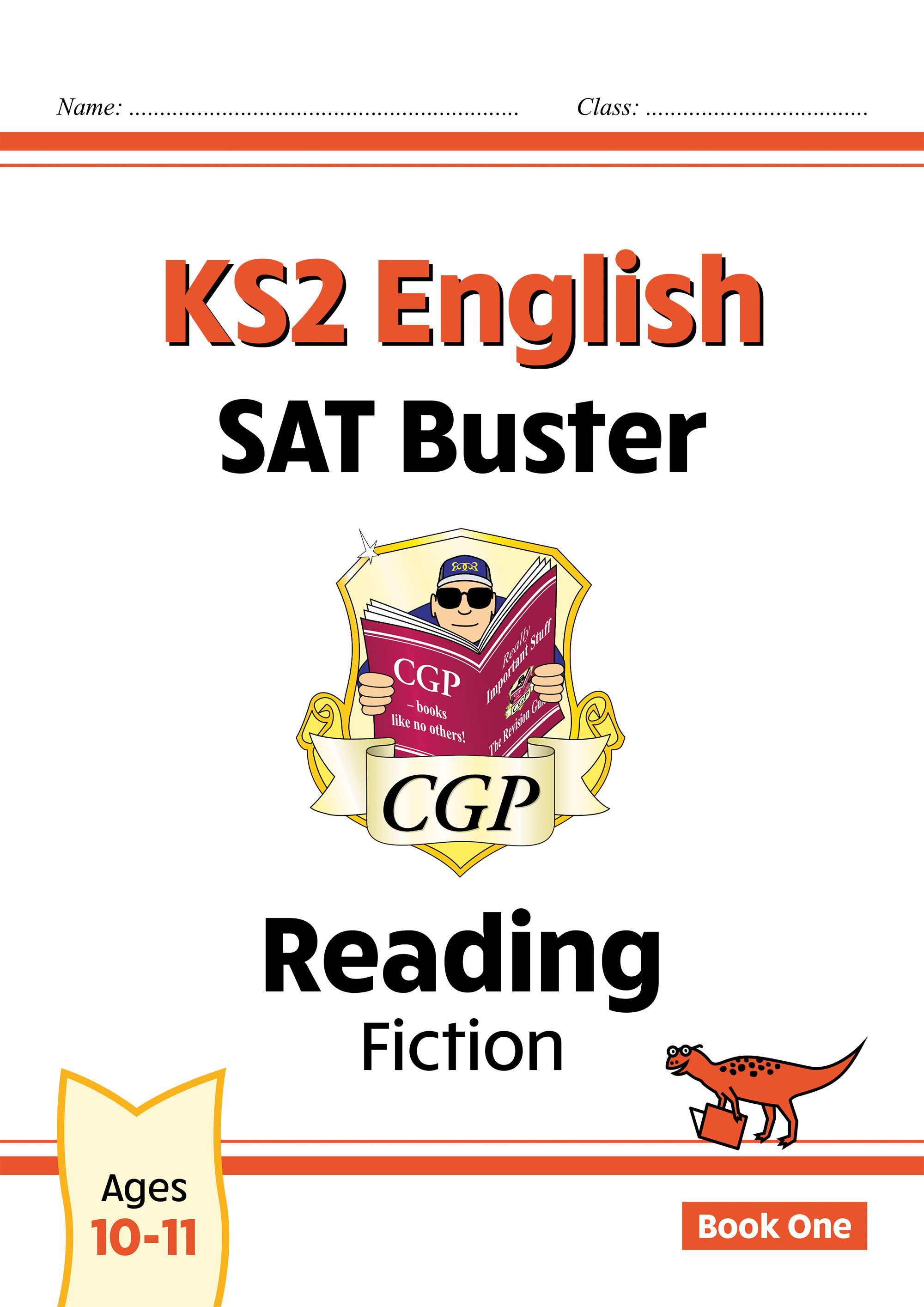 E6FRF22DK - New KS2 English Reading SAT Buster: Fiction - Book 1 (for the 2021 tests)
