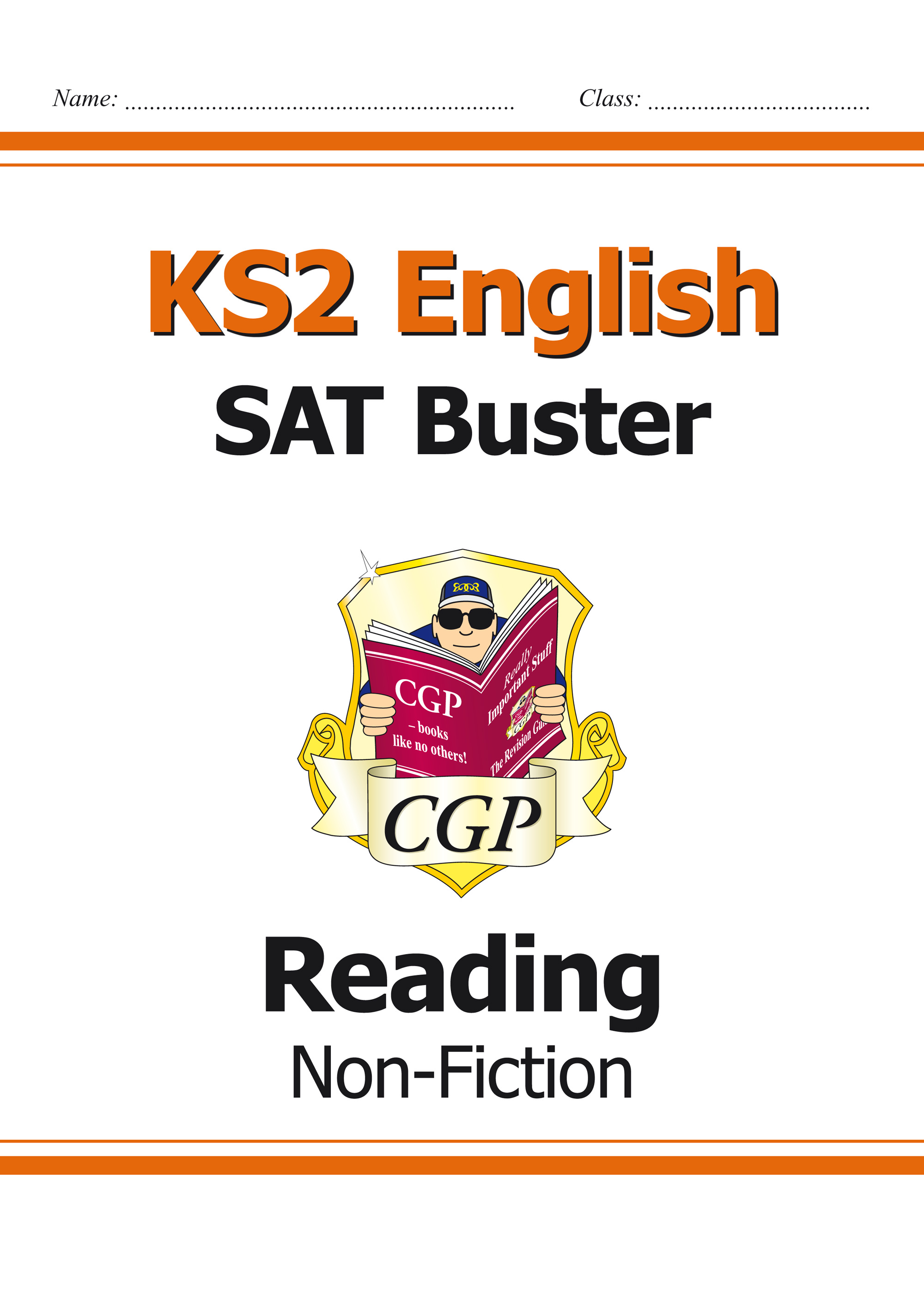 E6FRN21 - KS2 English Reading SAT Buster: Non-Fiction Book 1 (for tests in 2019)