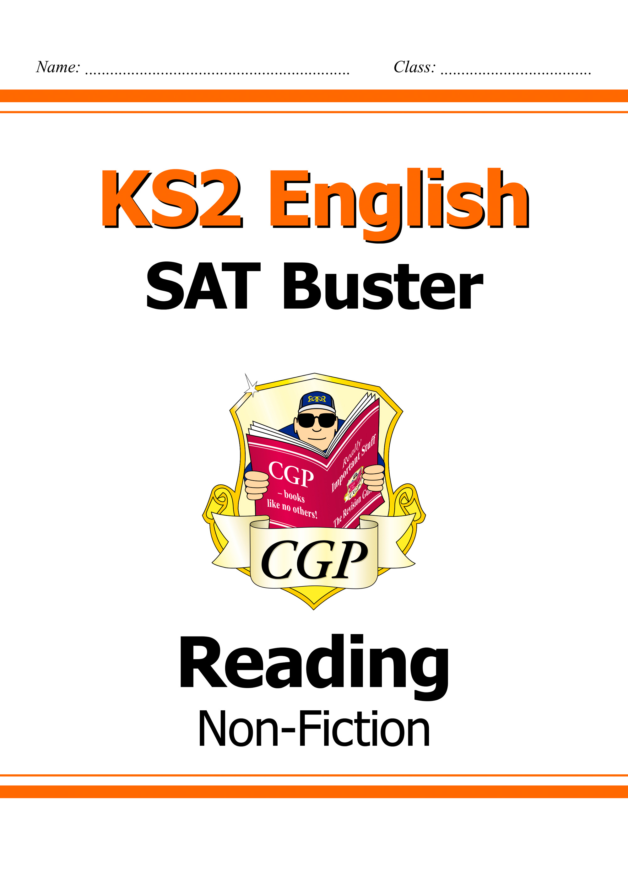 E6FRN21DK - New KS2 English Reading SAT Buster: Non-Fiction (for tests in 2018 and beyond)
