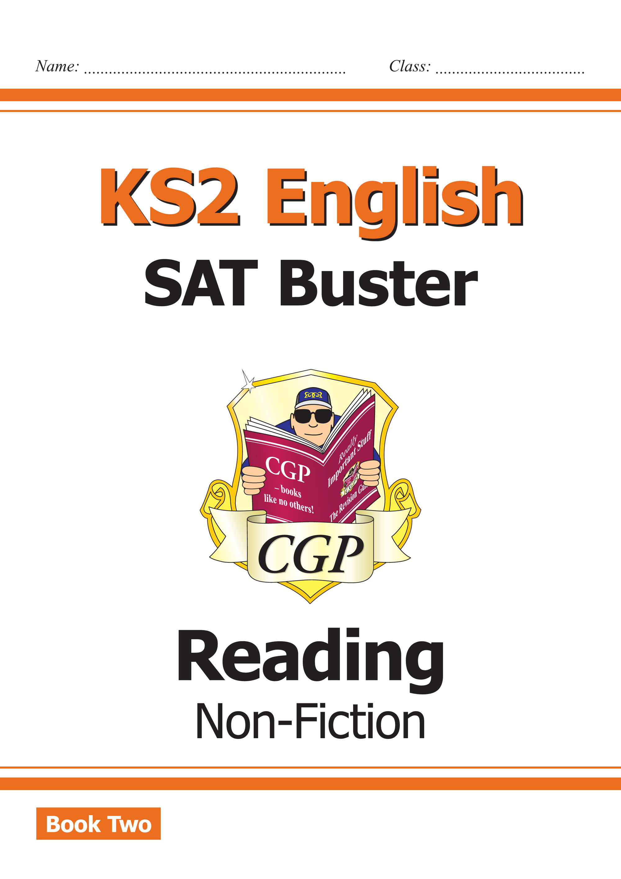 E6FRN221 - New KS2 English Reading SAT Buster: Non-Fiction Book 2 (for the 2019 tests)
