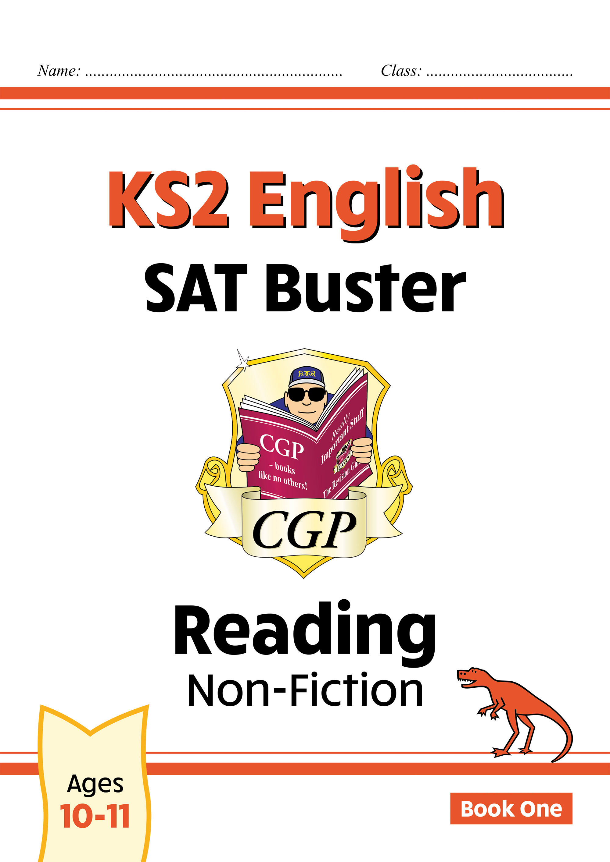 E6FRN22DK - New KS2 English Reading SAT Buster: Non-Fiction - Book 1 (for tests in 2021)