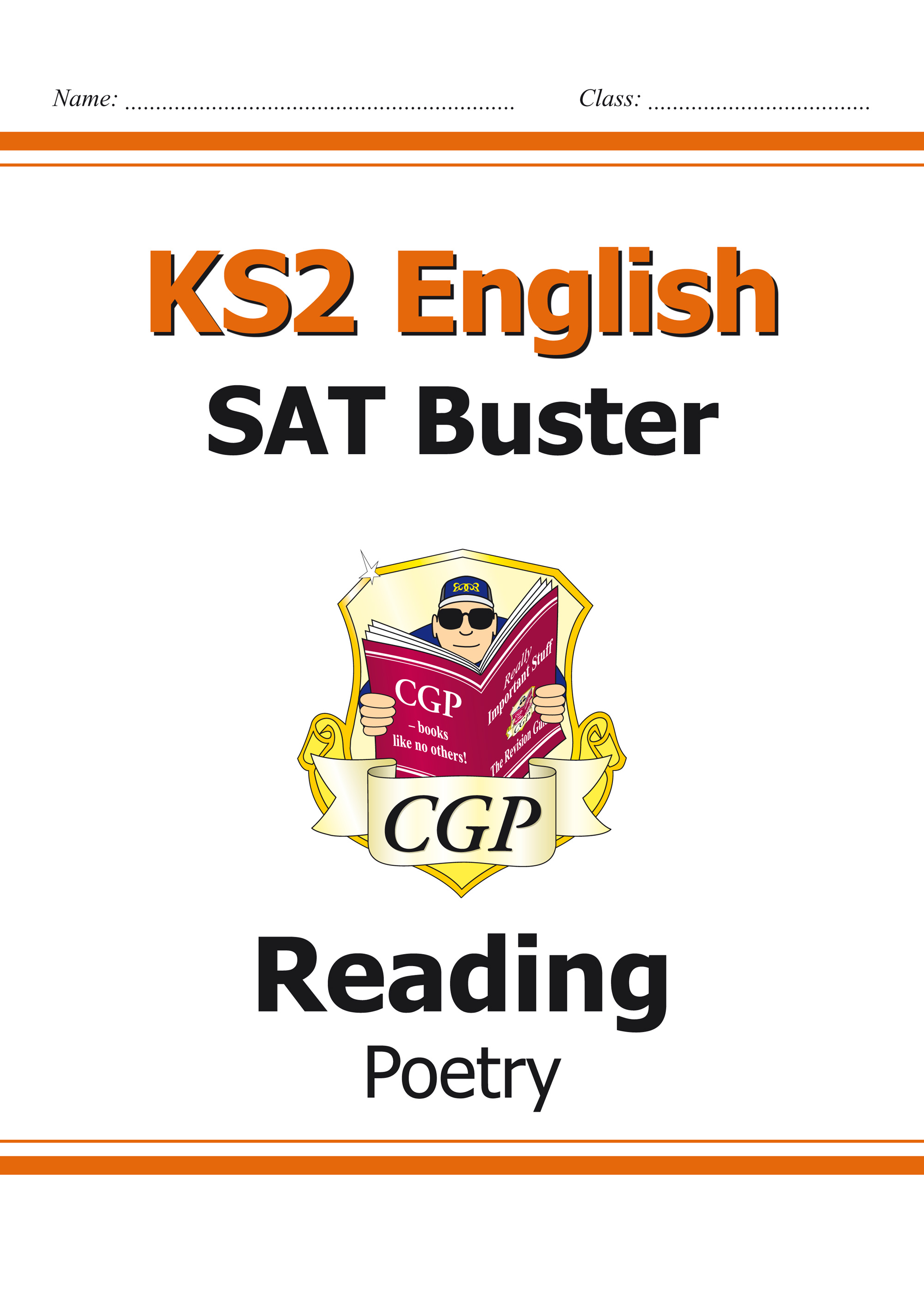 E6FRP21 - KS2 English Reading SAT Buster: Poetry Book 1 (for the 2019 tests)