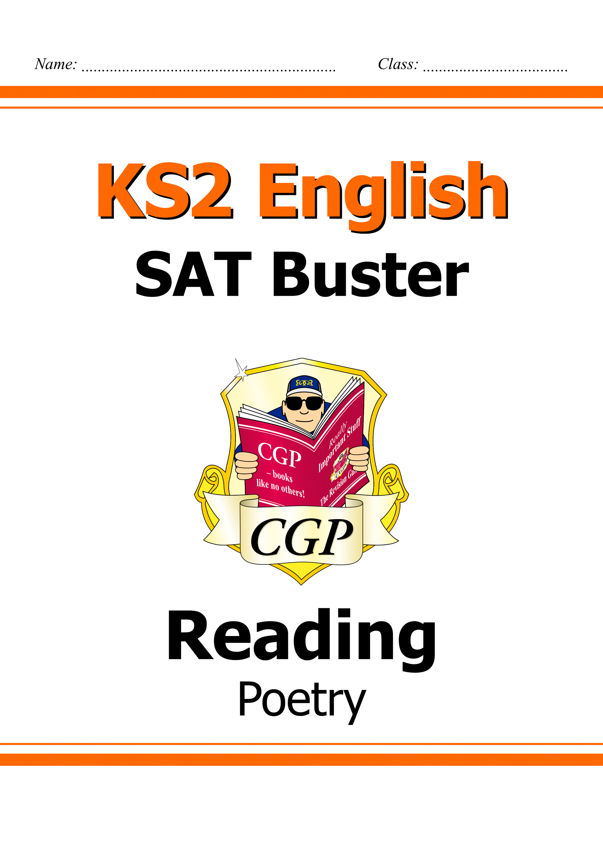 E6FRP21DK - New KS2 English Reading SAT Buster: Poetry (for tests in 2018 and beyond)