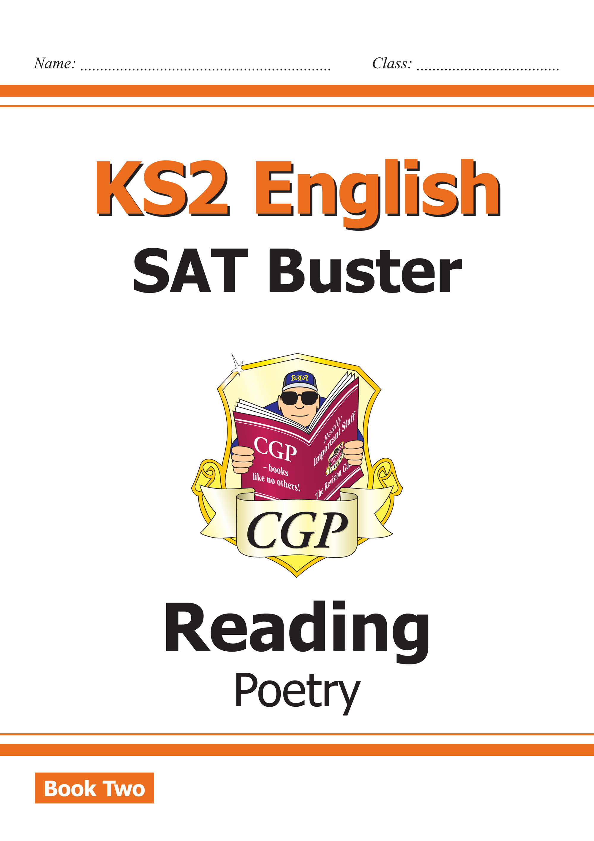 E6FRP221 - New KS2 English Reading SAT Buster: Poetry Book 2 (for the 2019 tests)