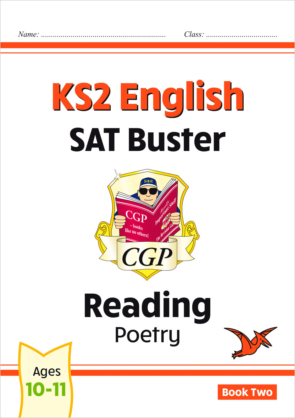 E6FRP222 - New KS2 English Reading SAT Buster: Poetry - Book 2 (for the 2021 tests)