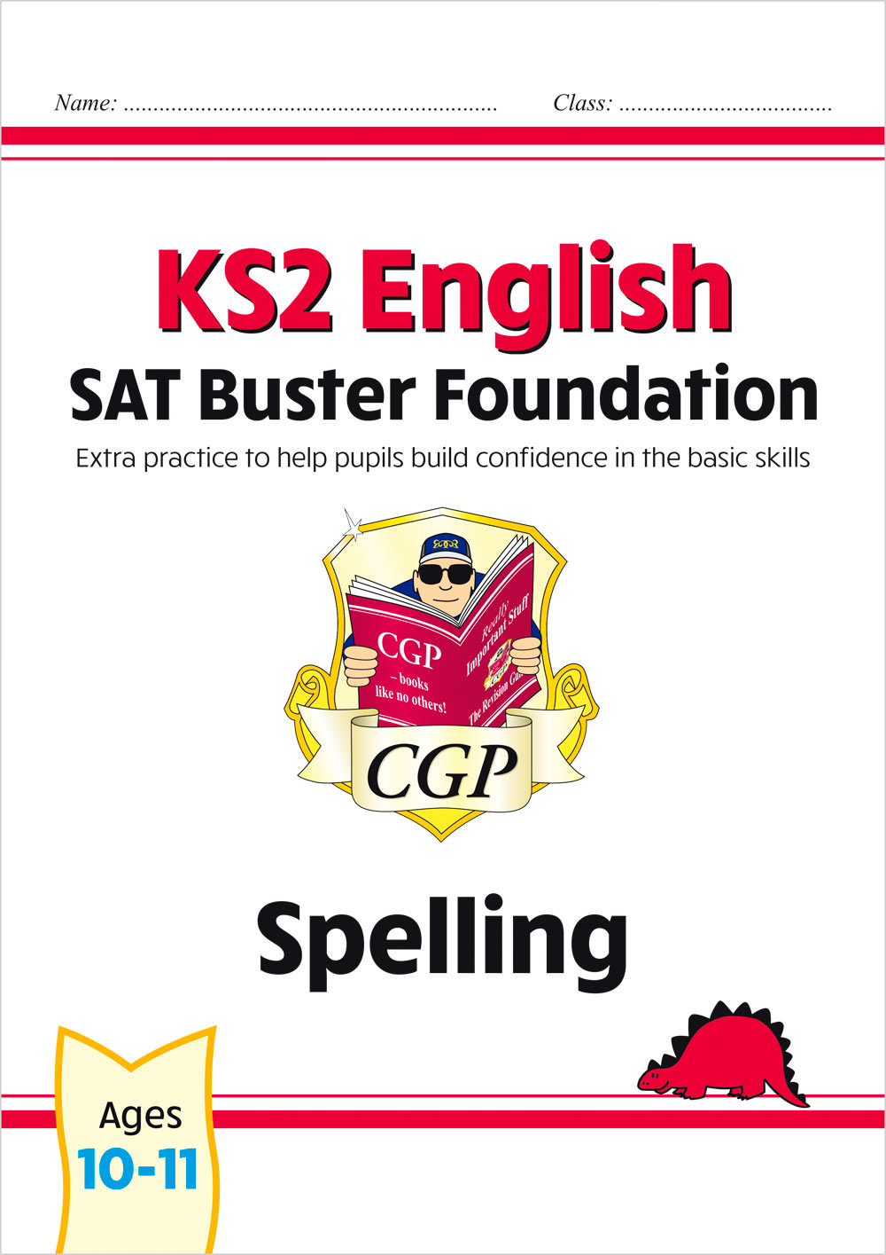 E6FS21 - New KS2 English SAT Buster Foundation: Spelling (for the 2021 tests)