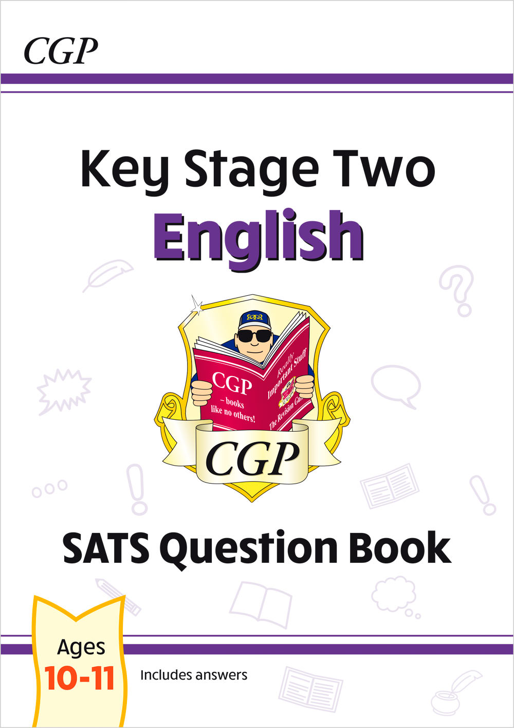 E6FW23 - New KS2 English SATS Question Book - Ages 10-11 (for the 2020 tests)