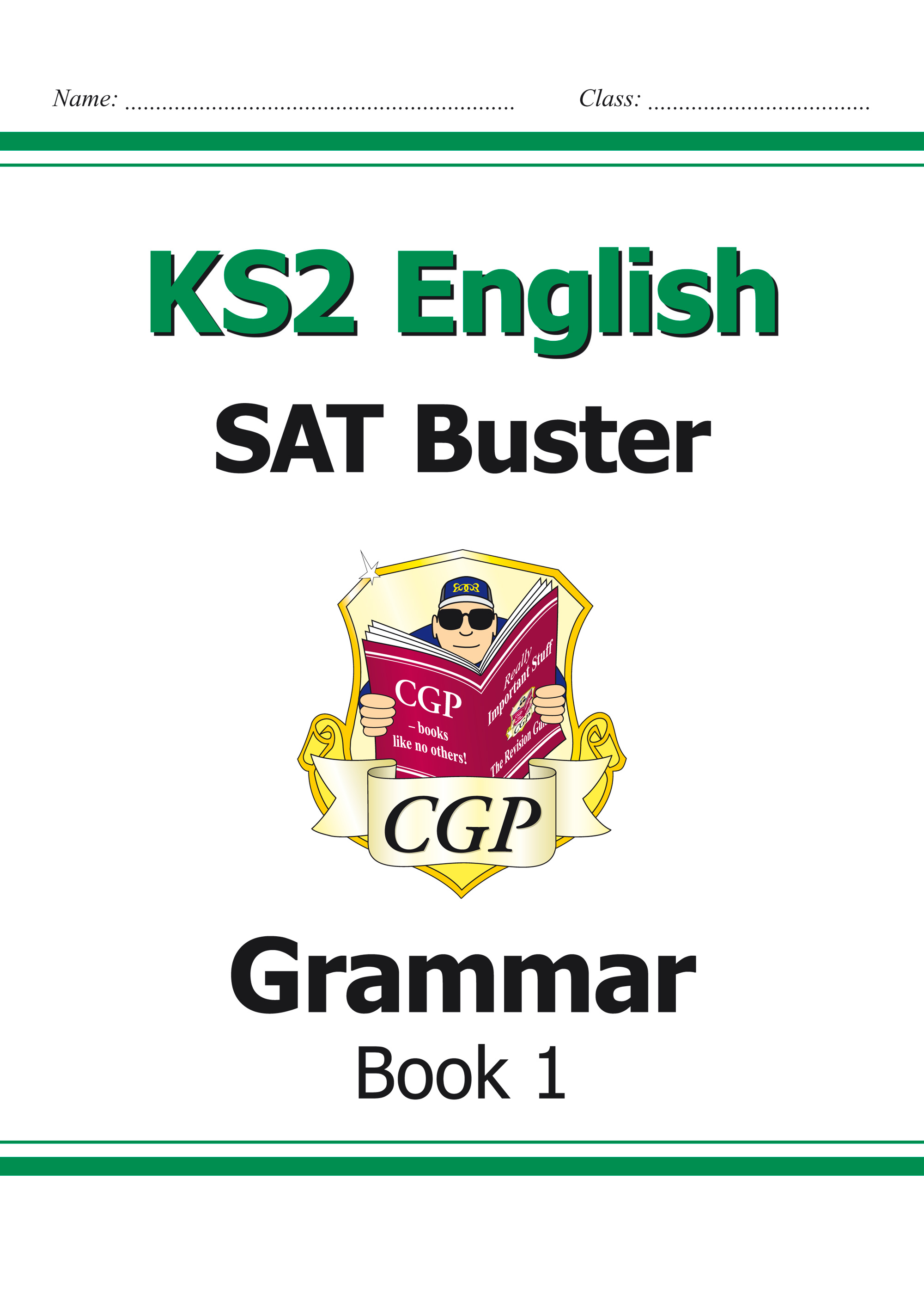 E6G22 - KS2 English SAT Buster: Grammar Book 1 (for tests in 2018 and beyond)