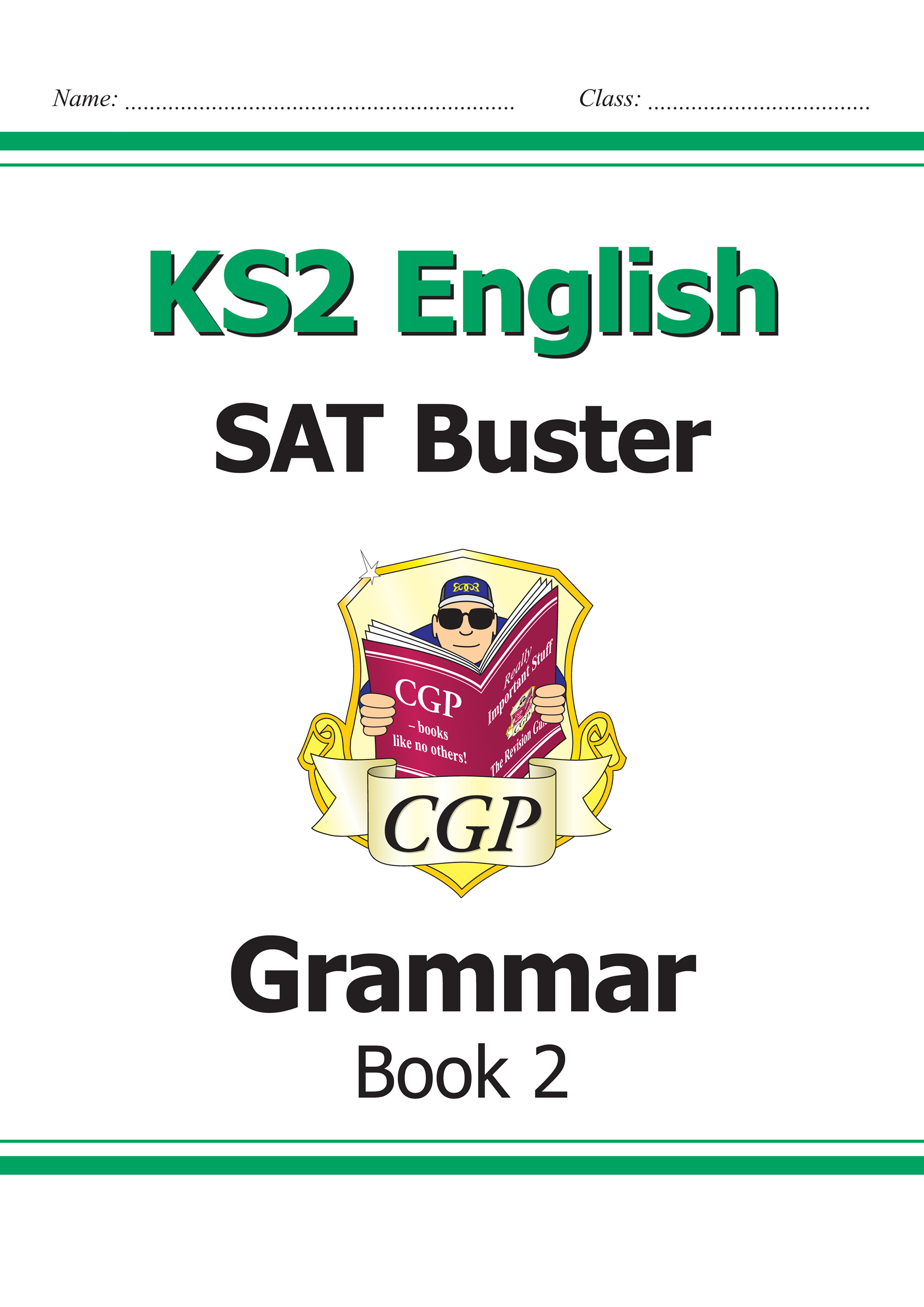 E6G222 - KS2 English SAT Buster - Grammar Book 2 (for the 2019 tests)