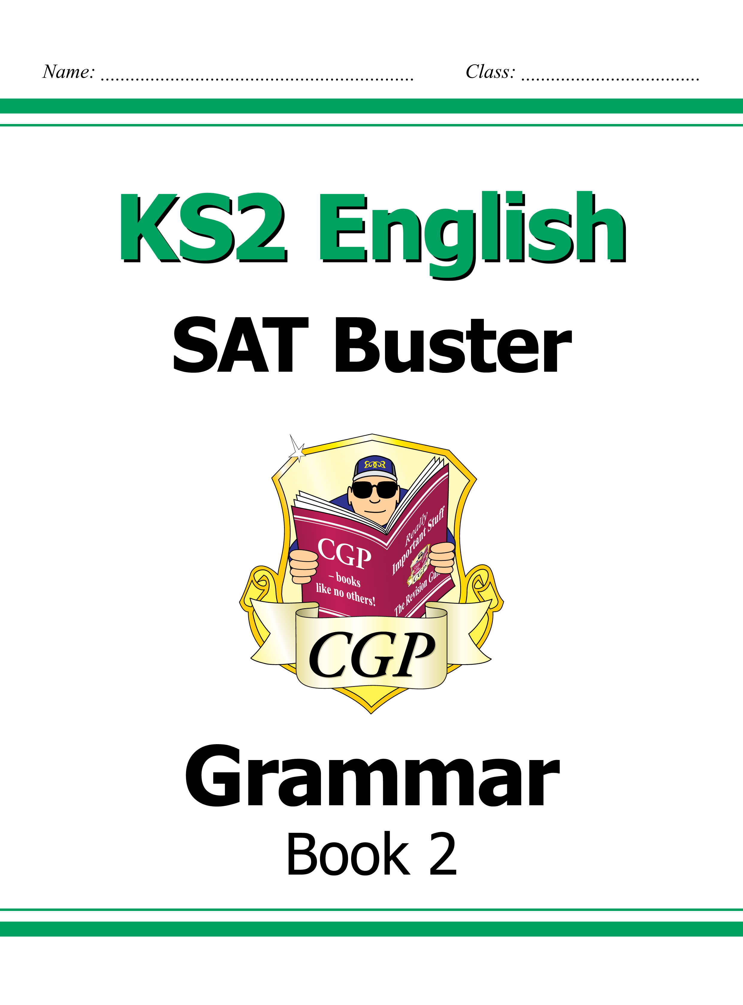E6G222DK - KS2 English SAT Buster - Grammar Book 2 (for tests in 2018 and beyond)