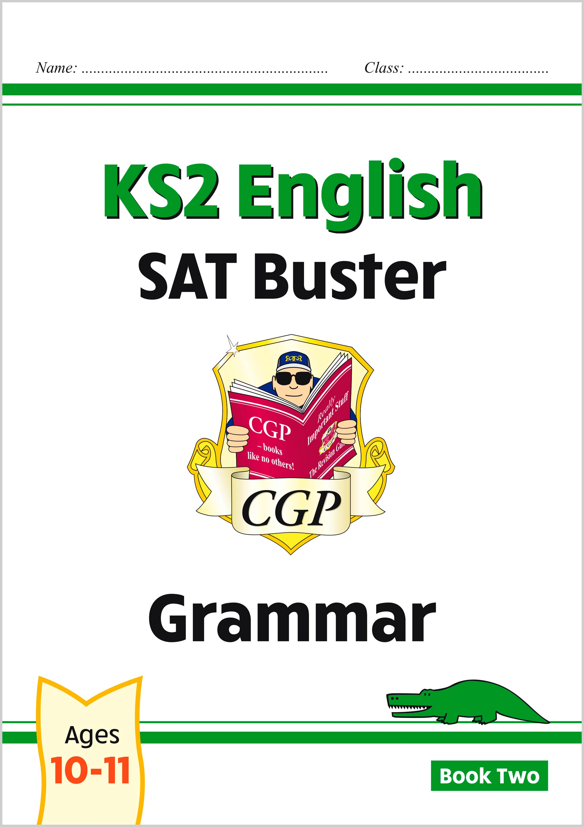 E6G223 - New KS2 English SAT Buster: Grammar - Book 2 (for the 2021 tests)