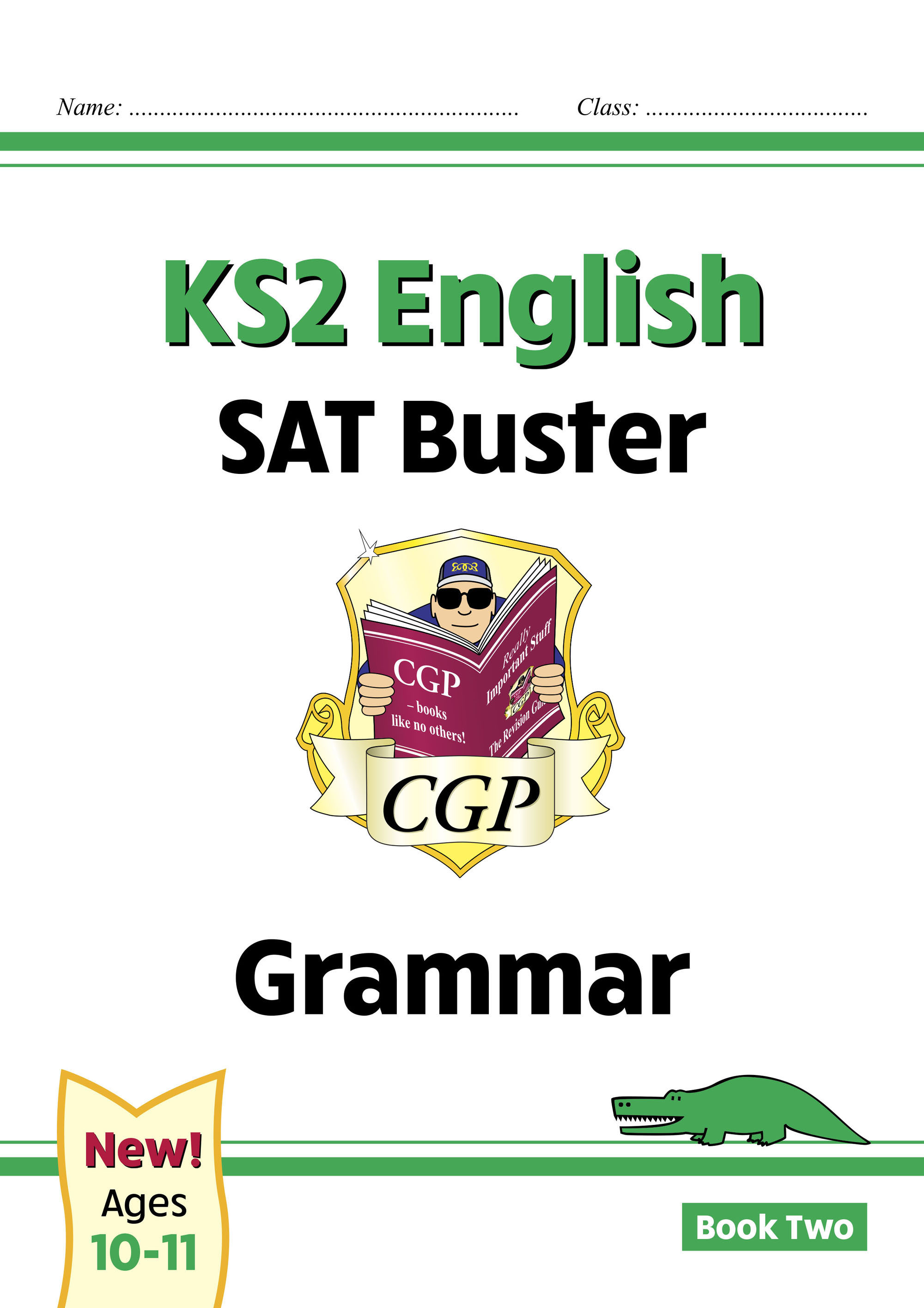E6G223DK - New KS2 English SAT Buster: Grammar - Book 2 (for the 2021 tests)