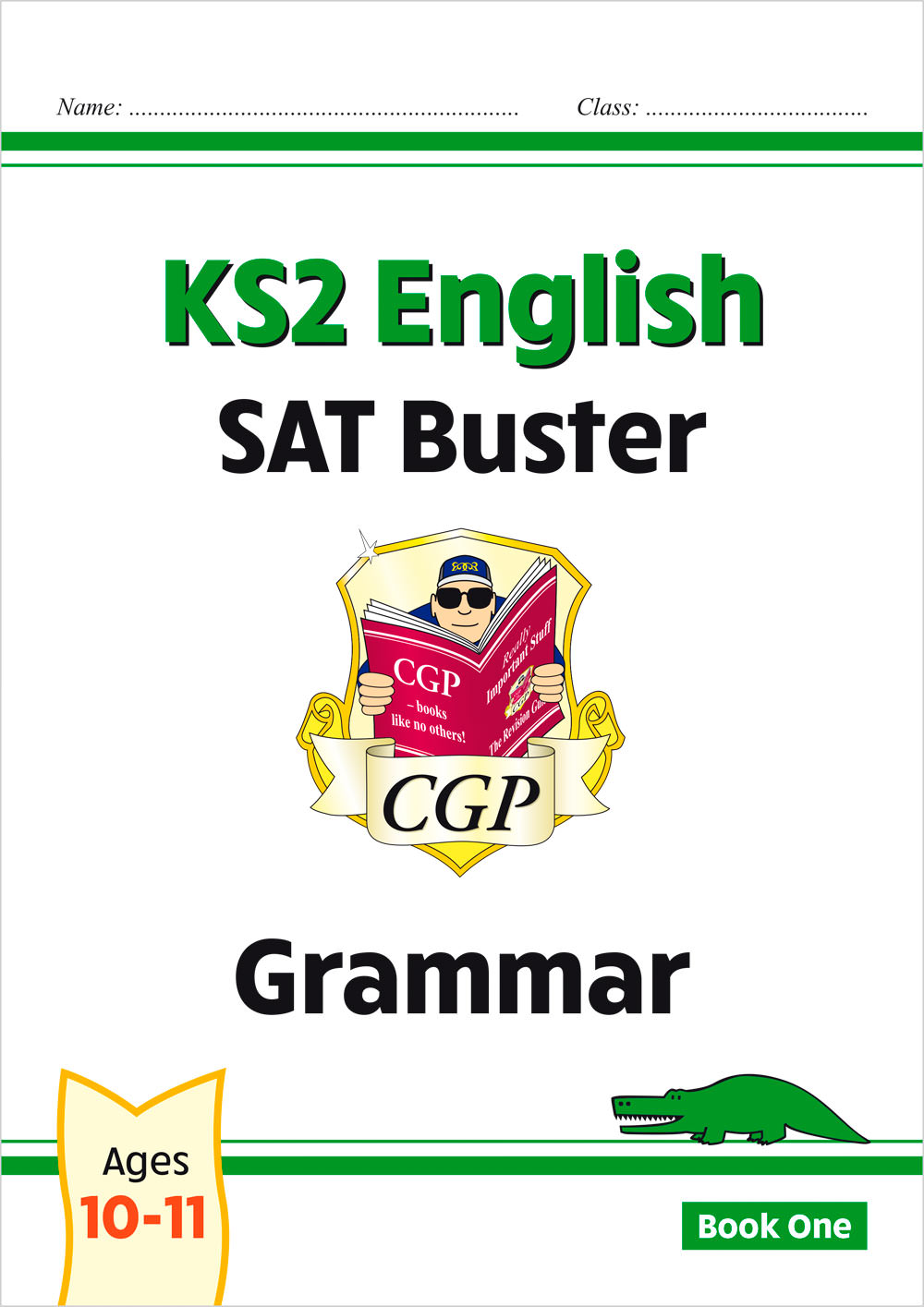 E6G23 - New KS2 English SAT Buster: Grammar - Book 1 (for the 2020 tests)