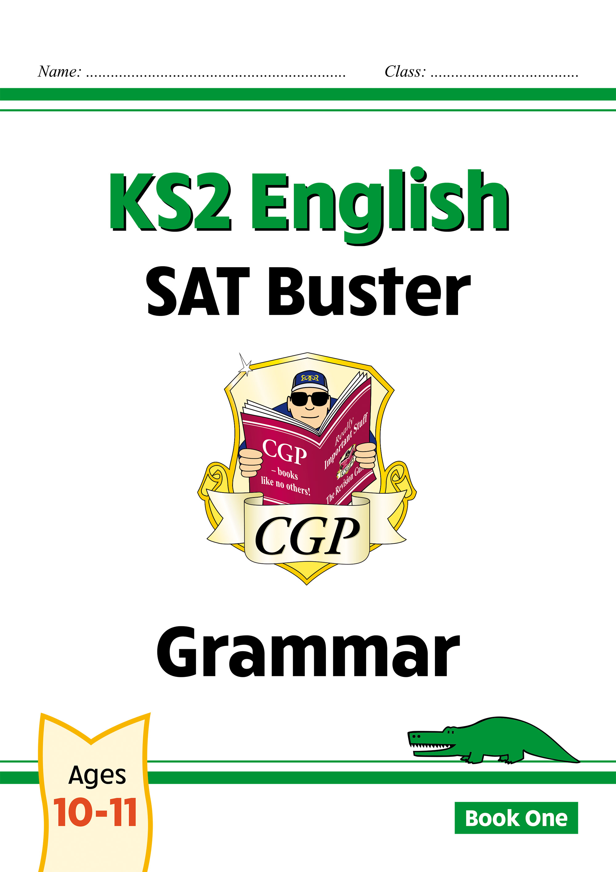 E6G23DK - New KS2 English SAT Buster: Grammar - Book 1 (for the 2021 tests)